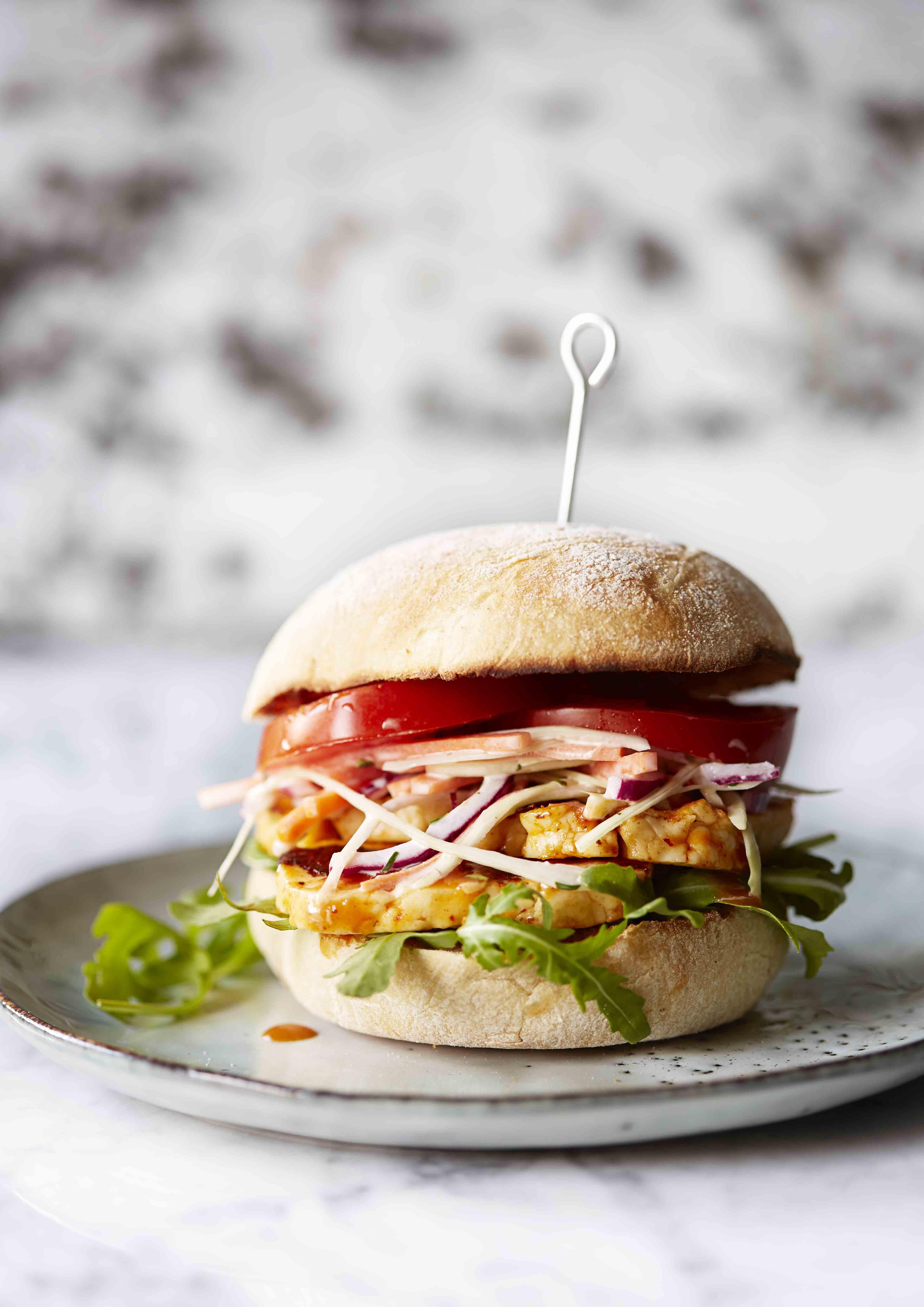 Veggie Burger Recipe For Peri Peri Halloumi Burgers