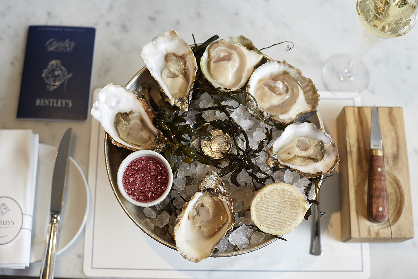 Bentley's Oysters, London Oyster Week