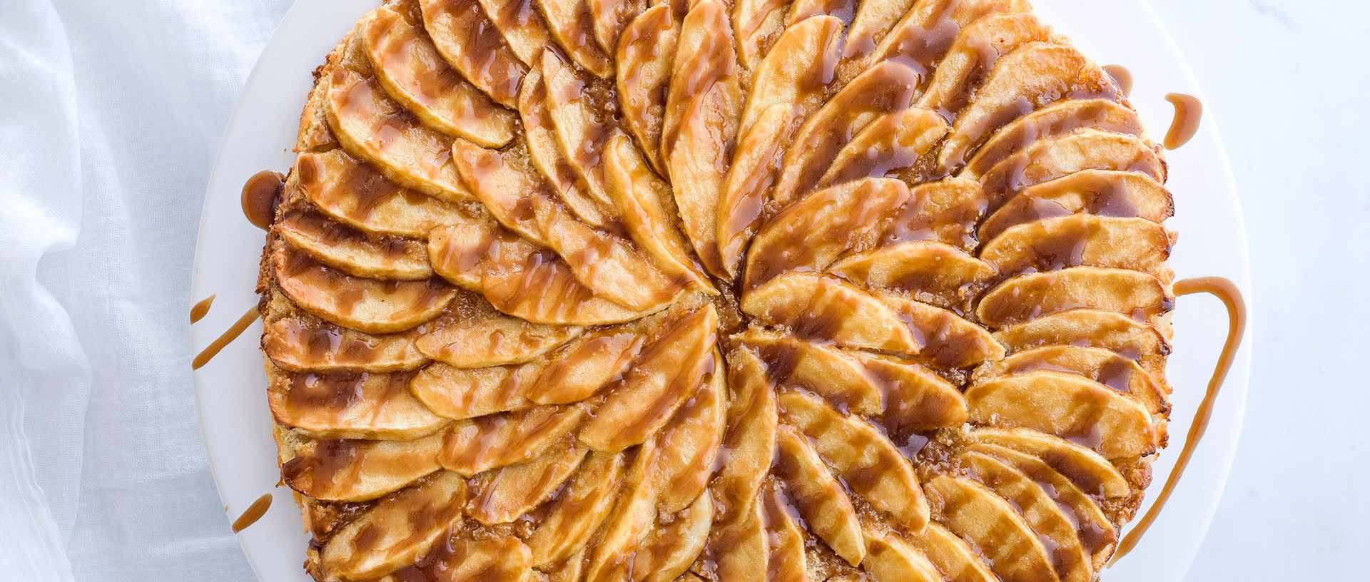 Butterscotch-Apple-tart