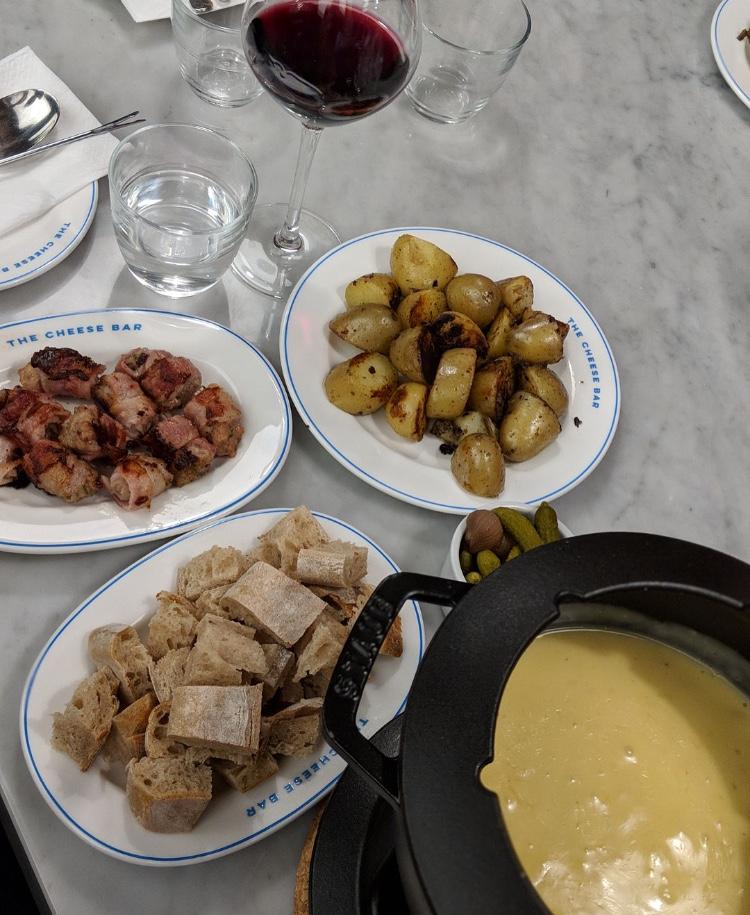 The Cheese Bar fondue Thursdays