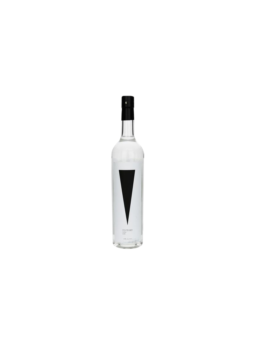 Victory gin bottle
