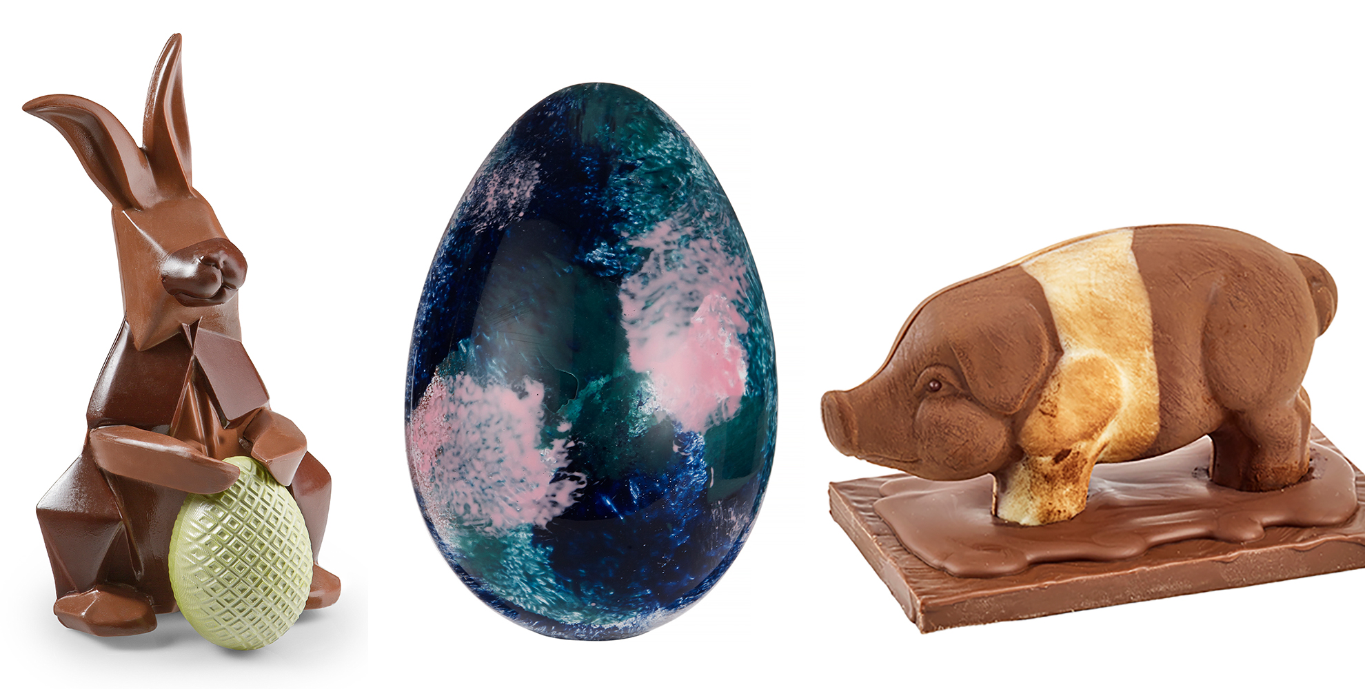 A selection of Easter eggs