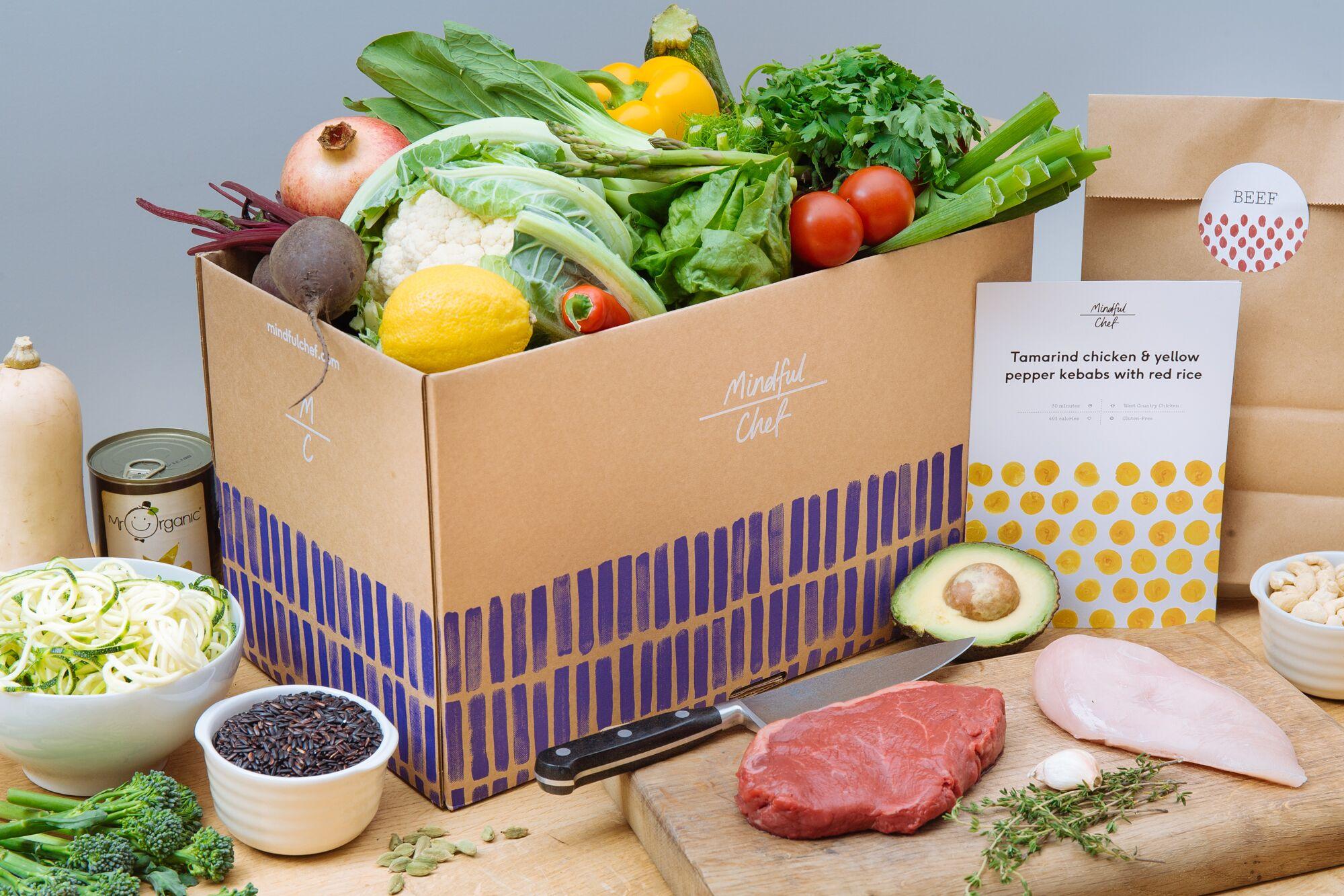 mindful chef food box