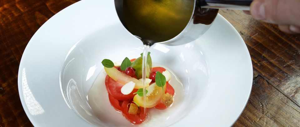Le Cochon Aveugle tomatoes