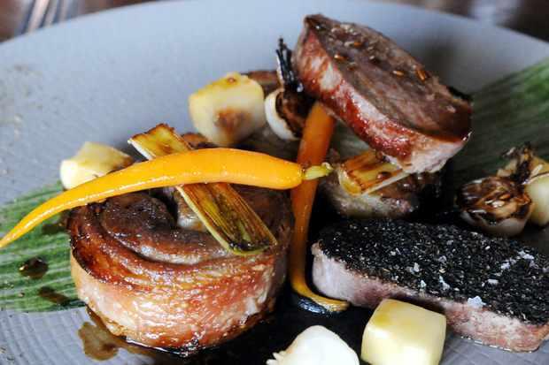 Roast dinner at The Boot Inn, Derbyshire