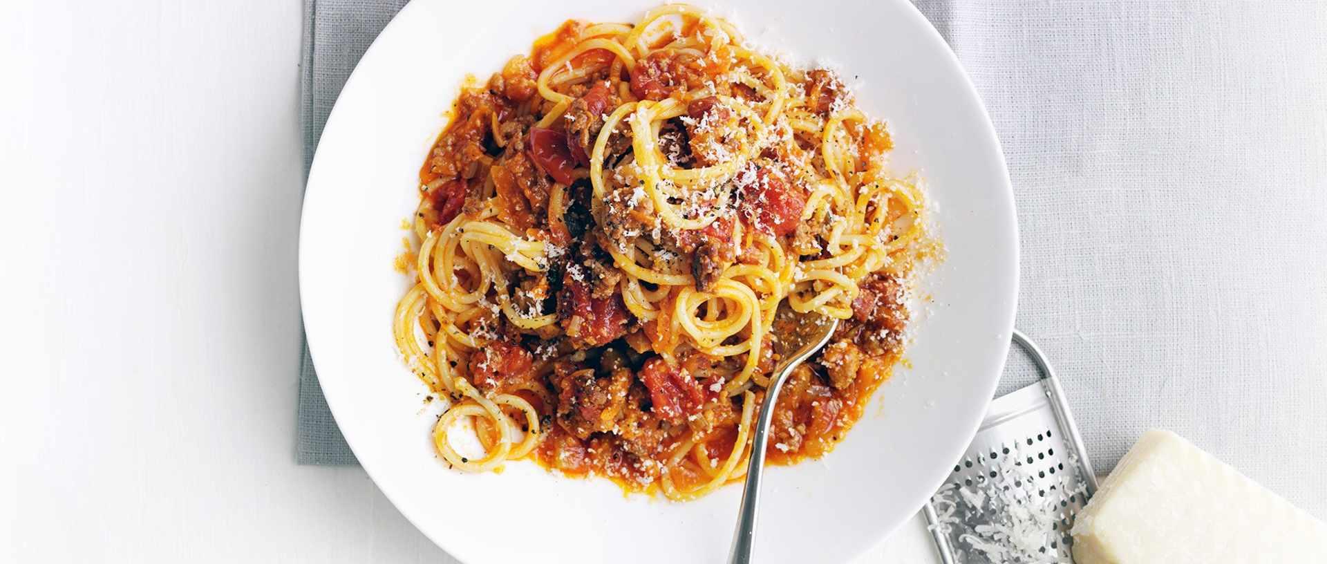 Best-ever spaghetti bolognese
