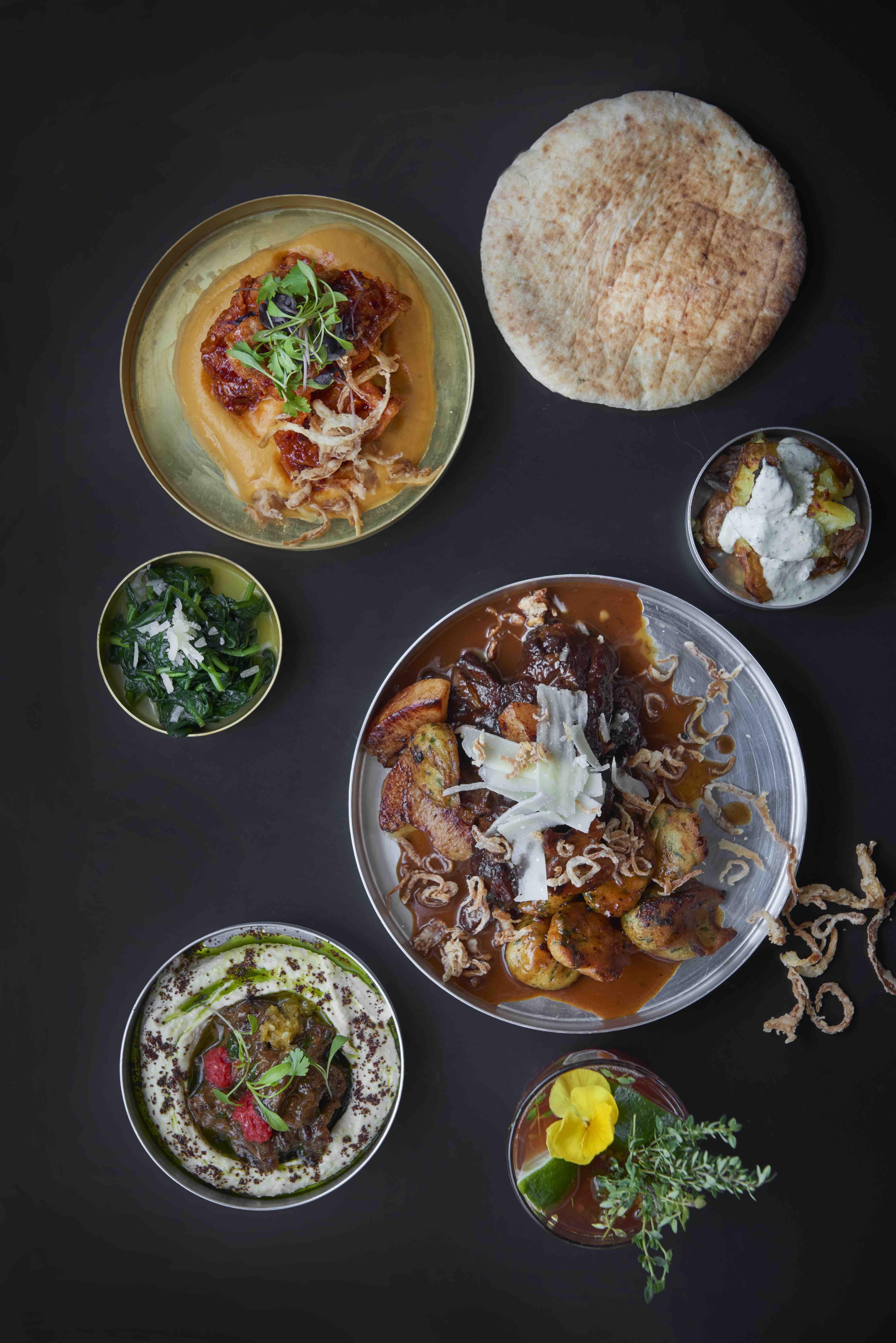 BALABAYA_Mix 1 - Chicken, Swiss Chard, Crushed Potatoes, Lamb Neck, Hummus with Ox Tail