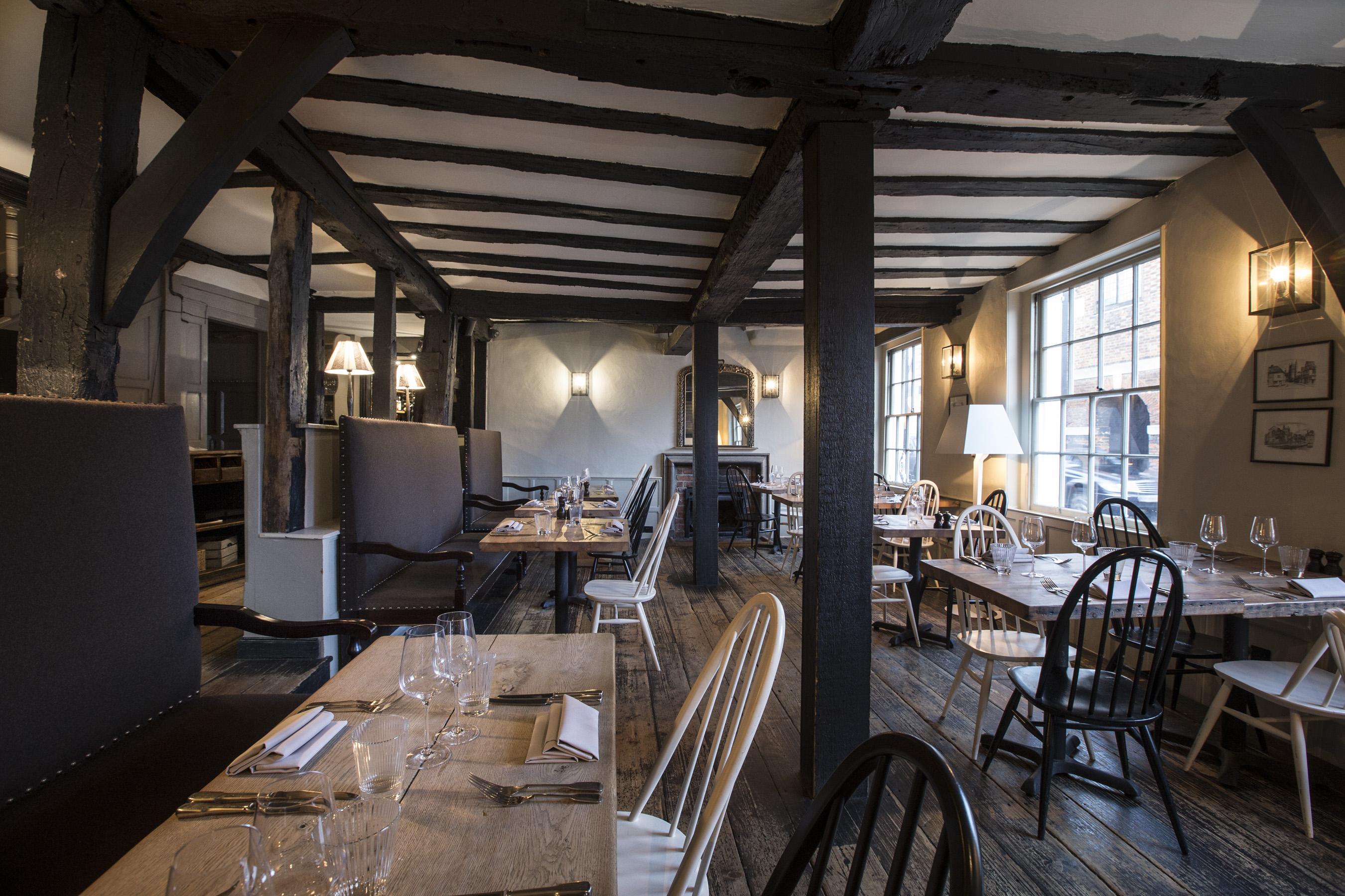 Dinning Room at Hawkyn Restaurant