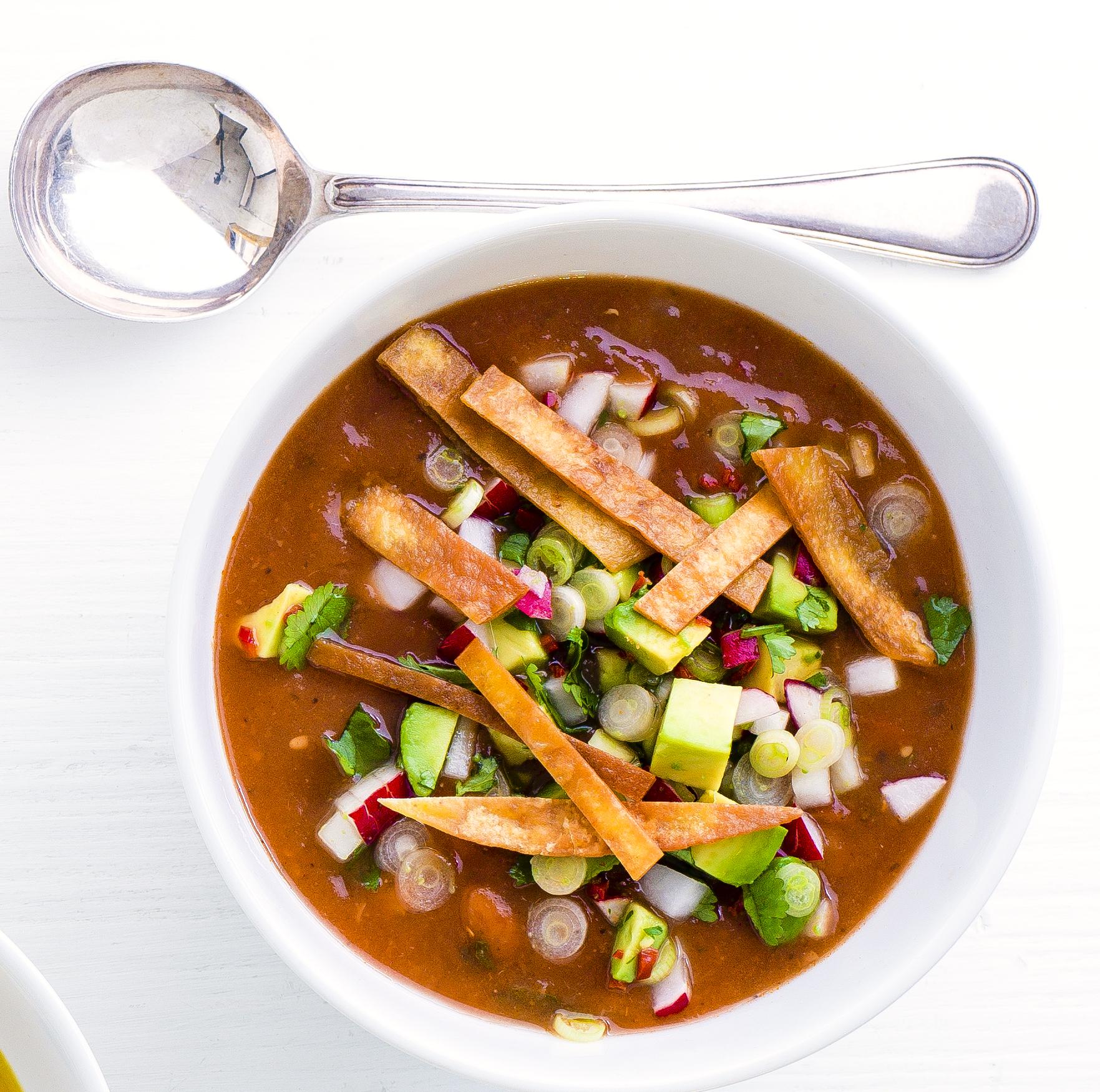 chilli tortilla soup
