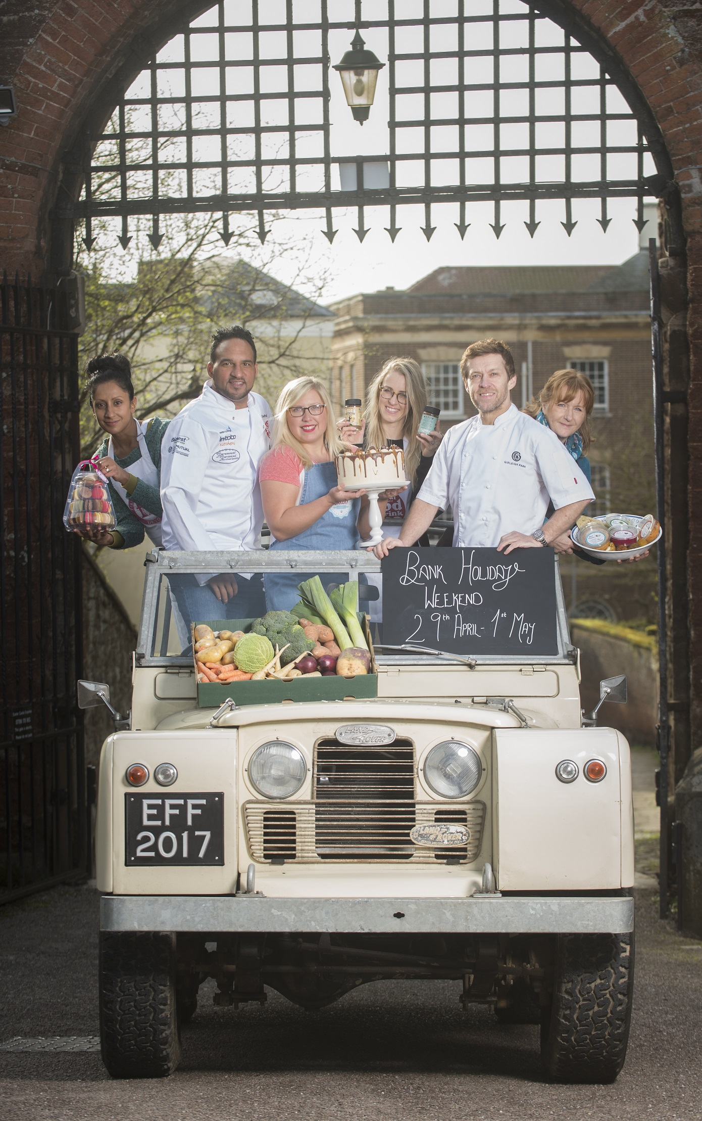 Andie Stanstell, Michael Caines MBE, Charlie Deeley, Caroline Little, Michael Wignall and Helen Evans