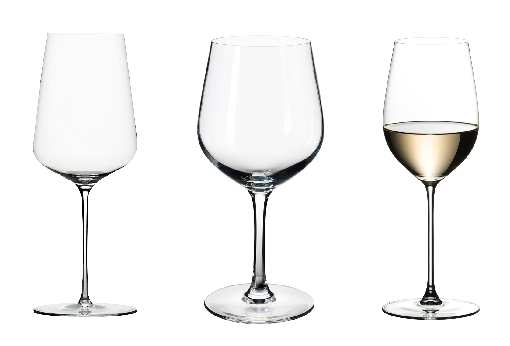 wine glass types which shape to choose olive magazine. Black Bedroom Furniture Sets. Home Design Ideas