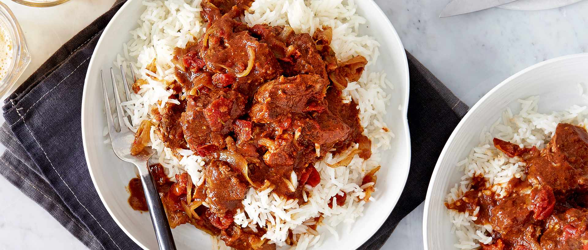 Caribbean Style Lamb Curry