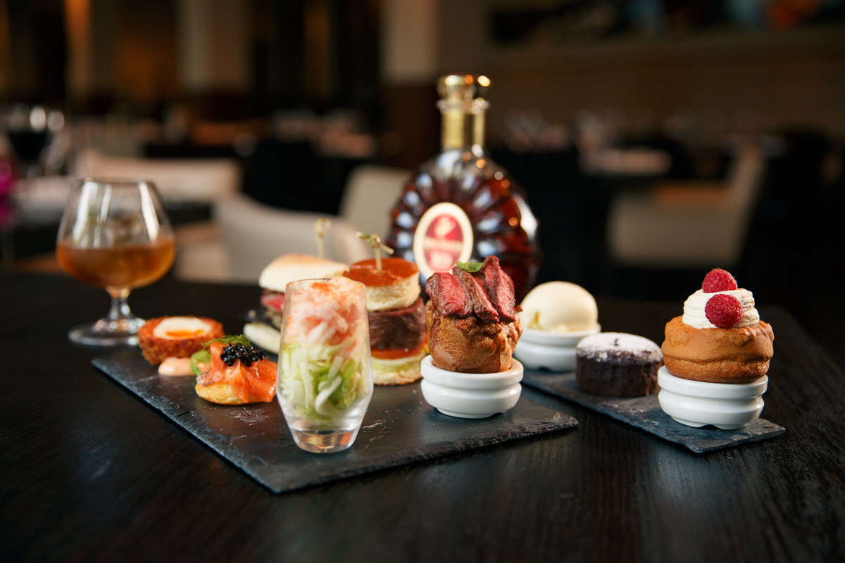 Gentleman's Afternoon Tea at Laguna Kitchen, Cardiff