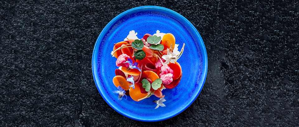Brine-pickled vegetables