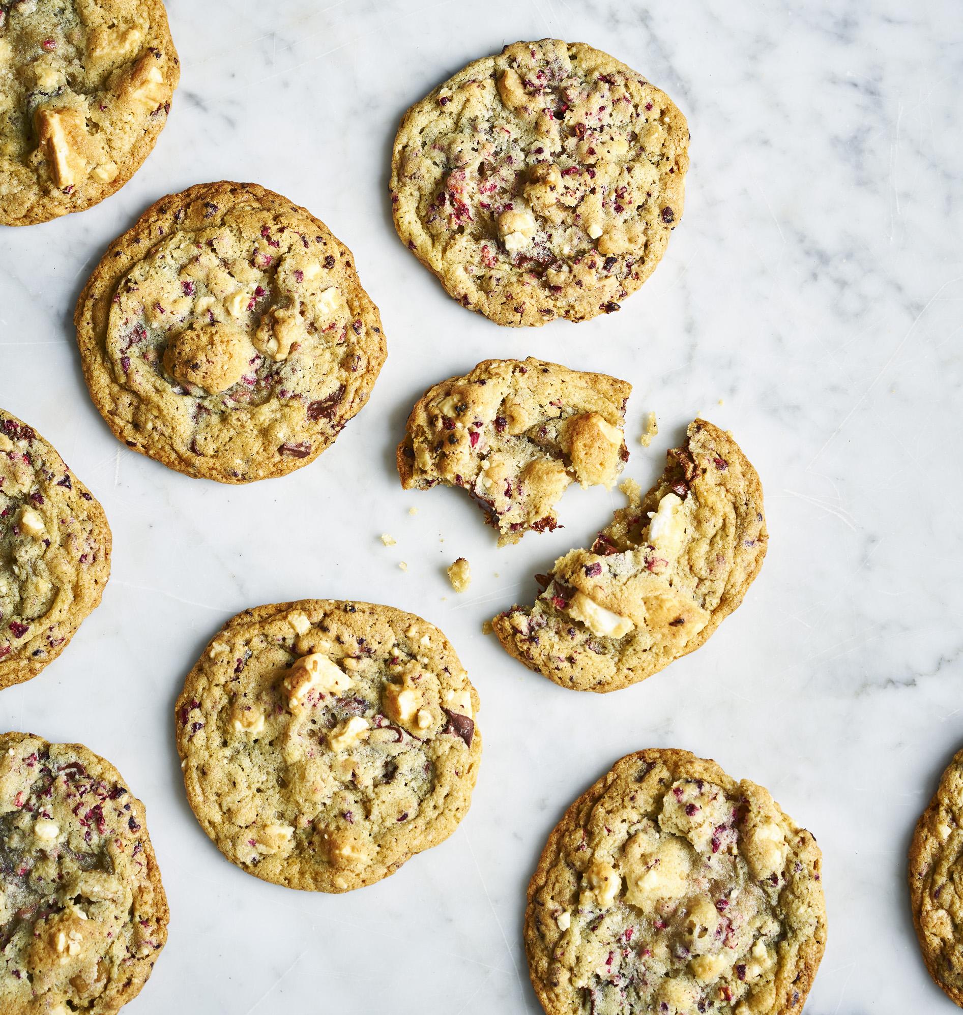 Double Chocolate Walnut Meringue Cookies