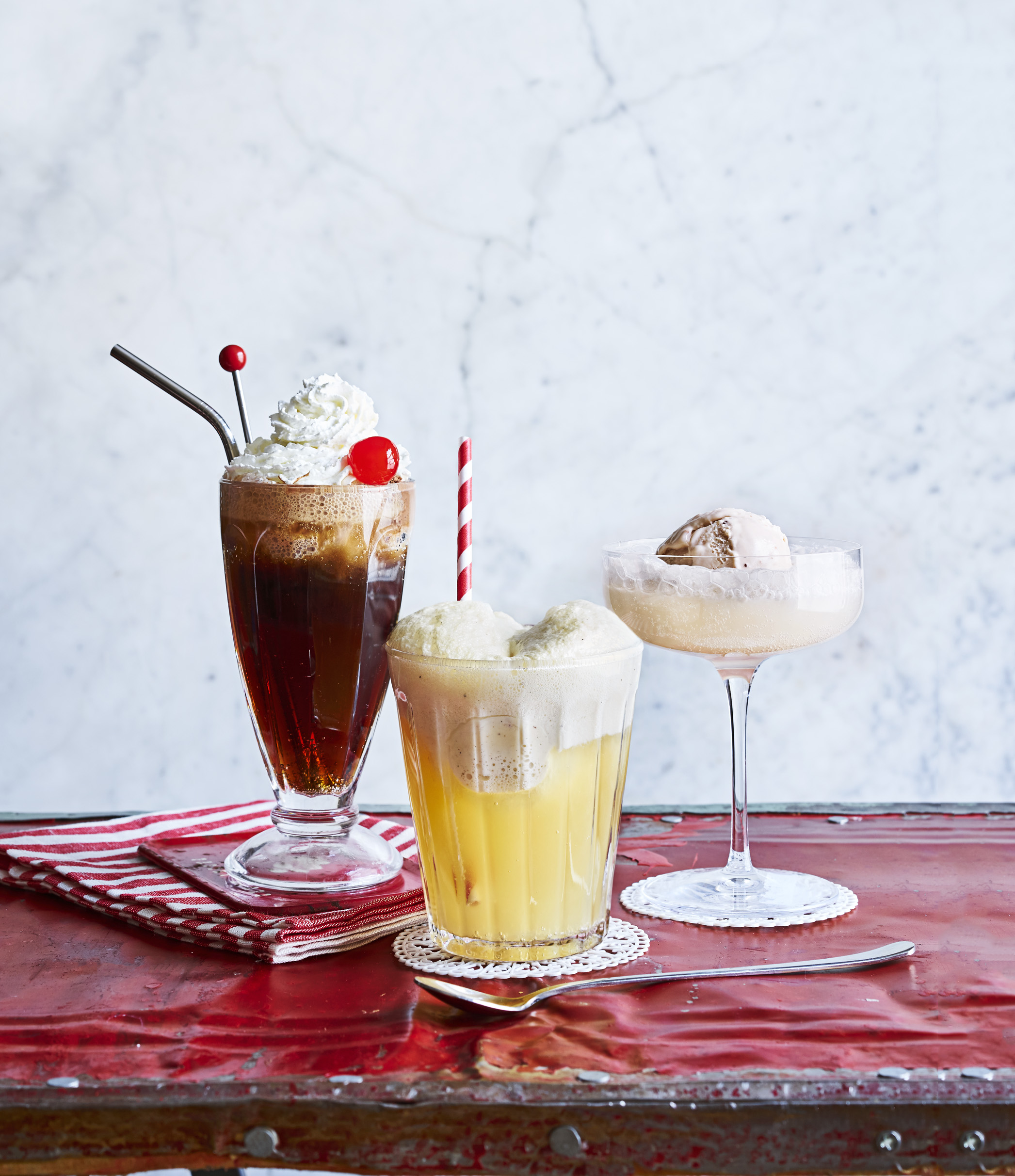 Boozy Ice Cream Float Recipes Ice Cream Toppings