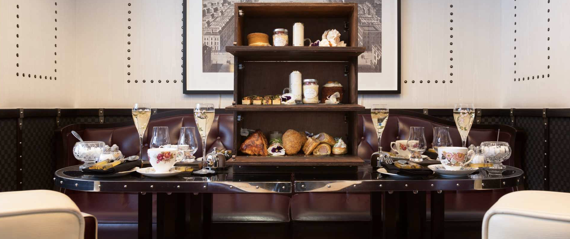 The Luggage Room, Mayfair: Low Tea review