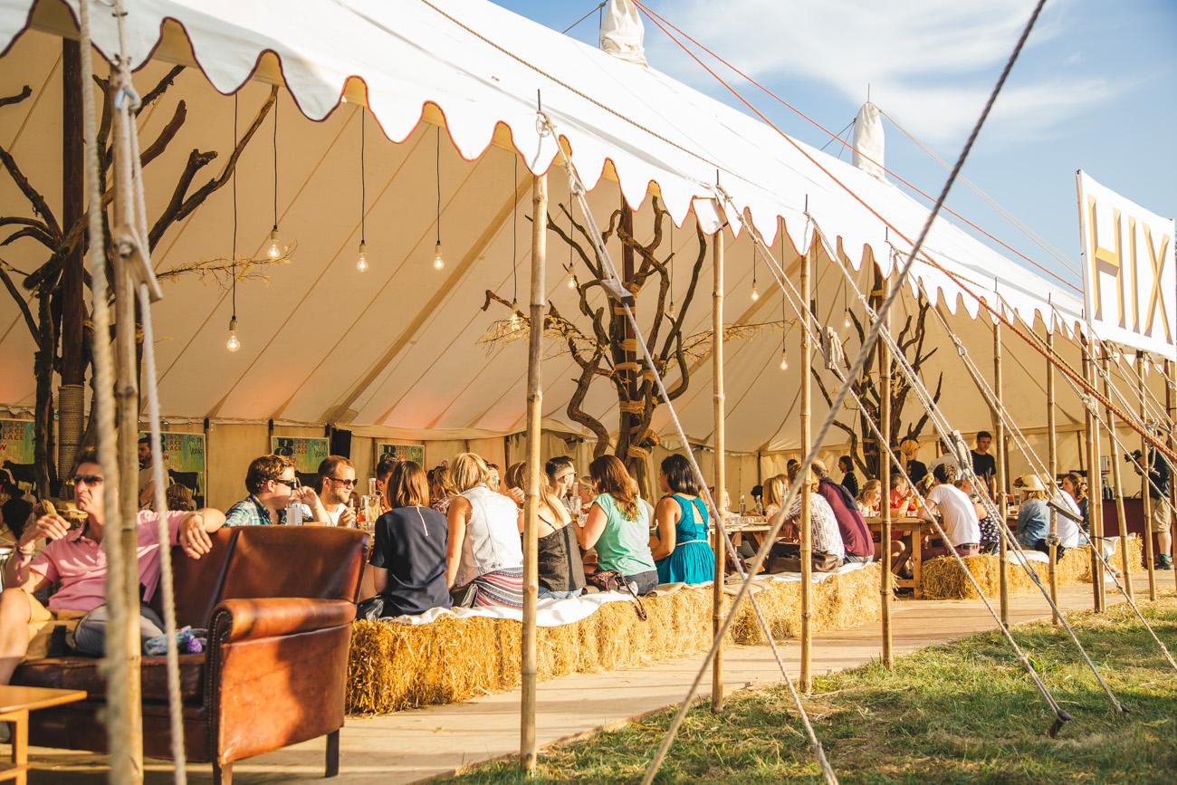 Edinburgh Festival Food Stalls