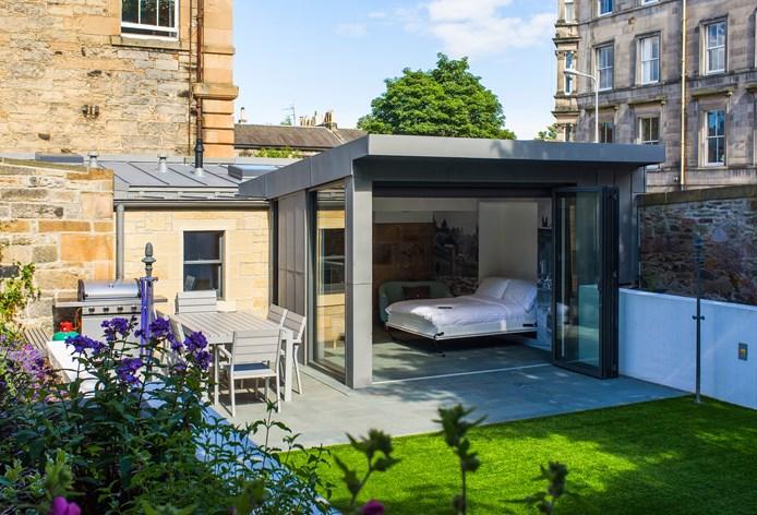 Garden rooms, Edinburgh