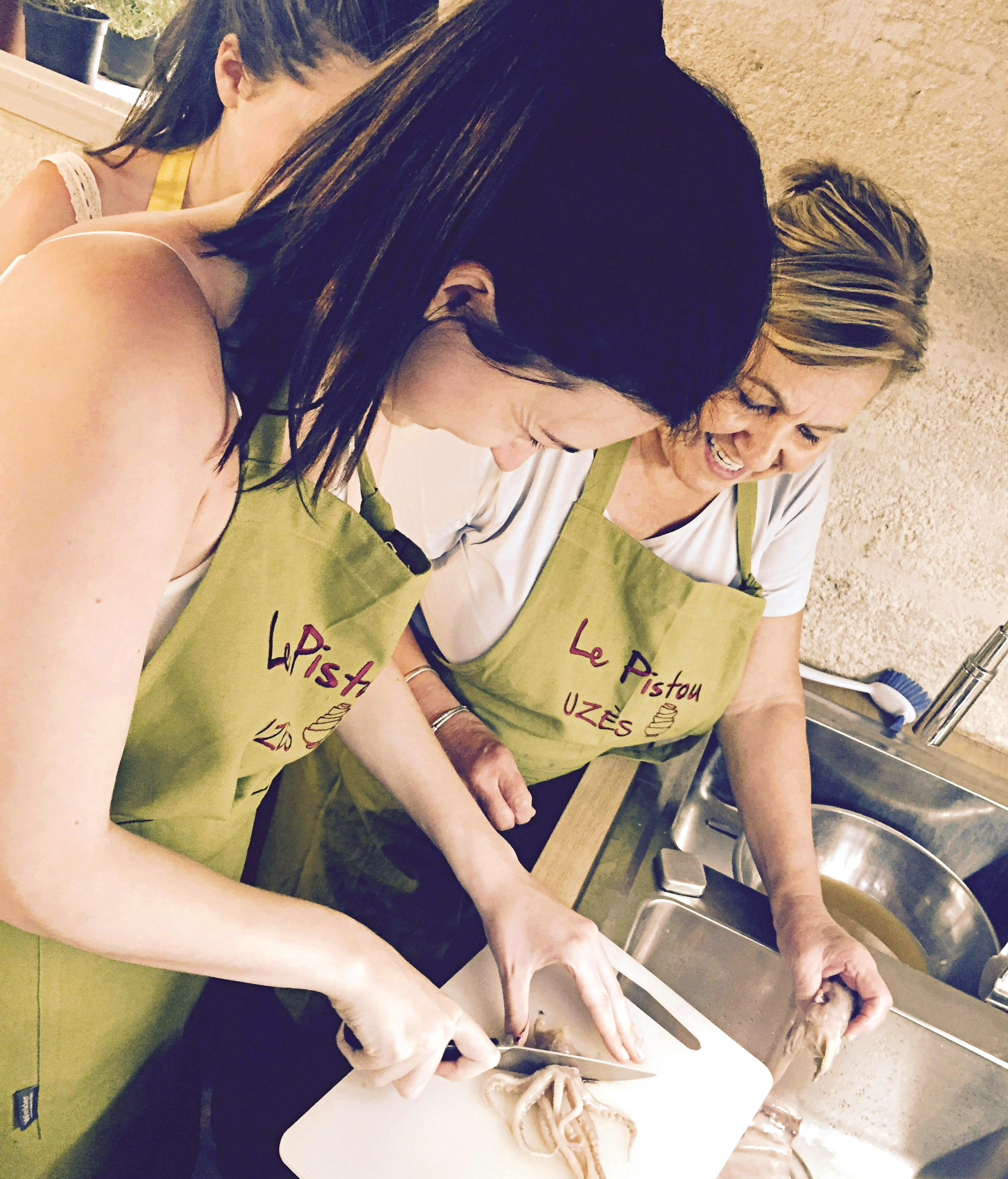 Le Pistou cookery school