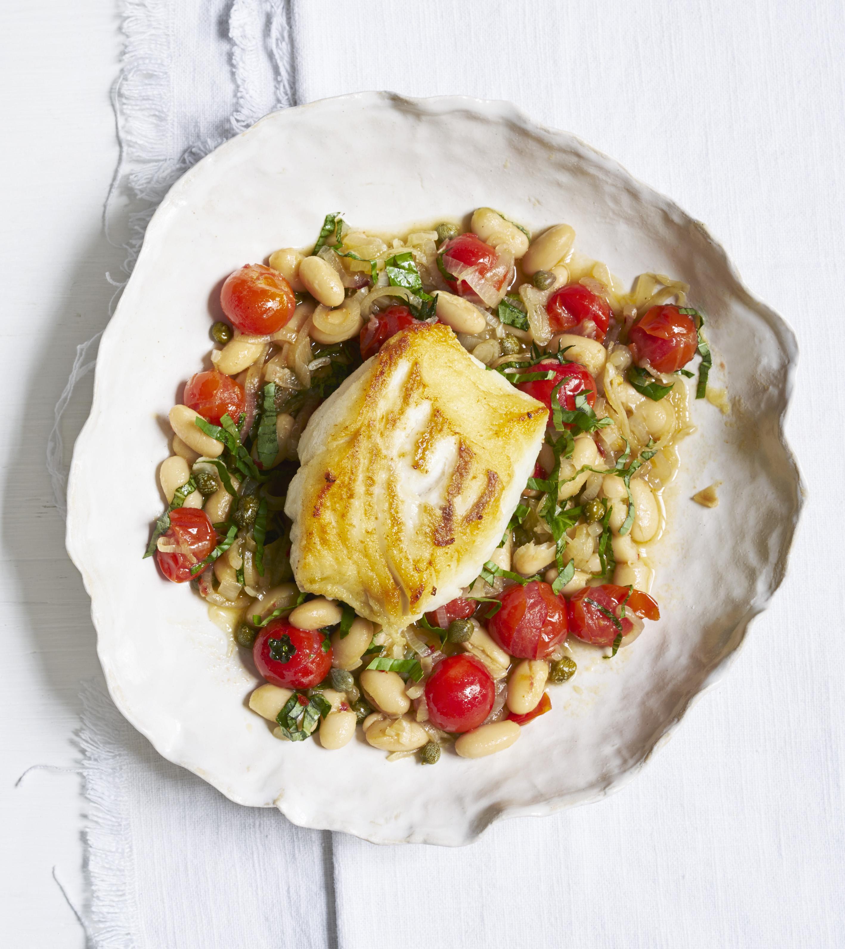 Cod with tomato bean stew recipe olive magazine for Fish stew recipe cod