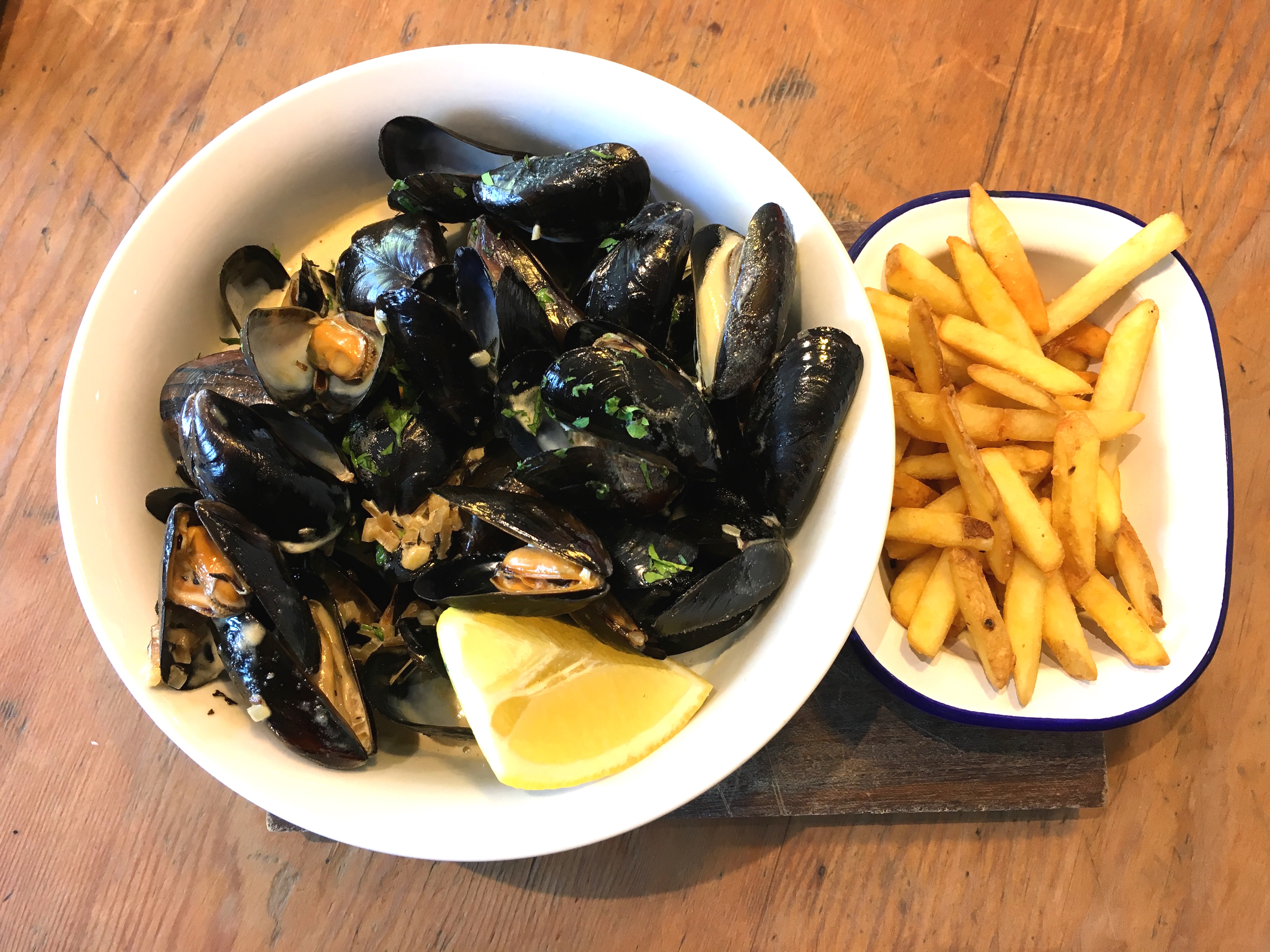 Mussels at No 1 harbourside