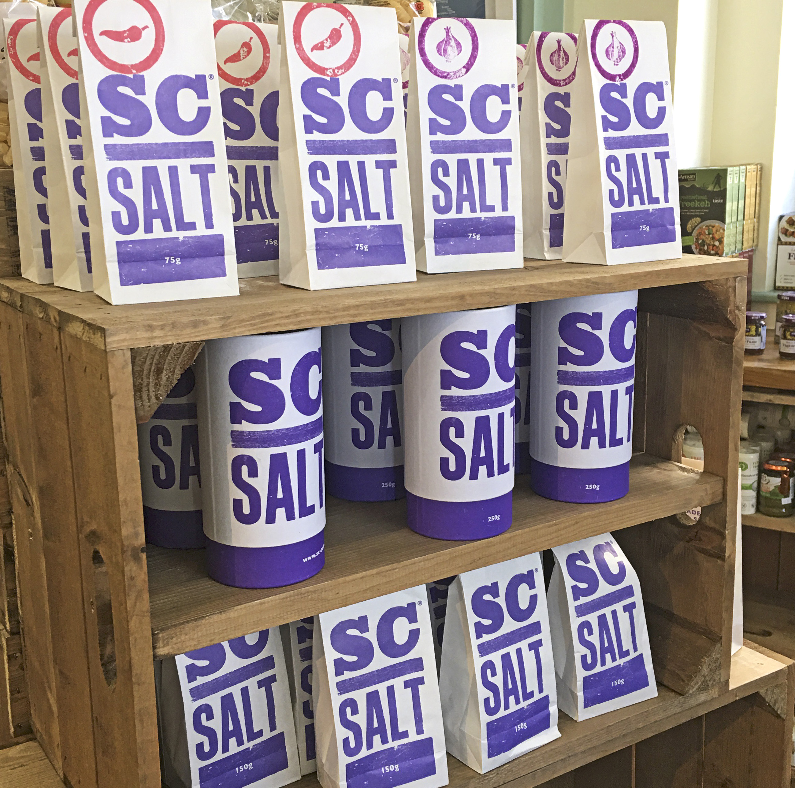 Isles of Scilly, SC Salt at the farm Deli, St Mary's