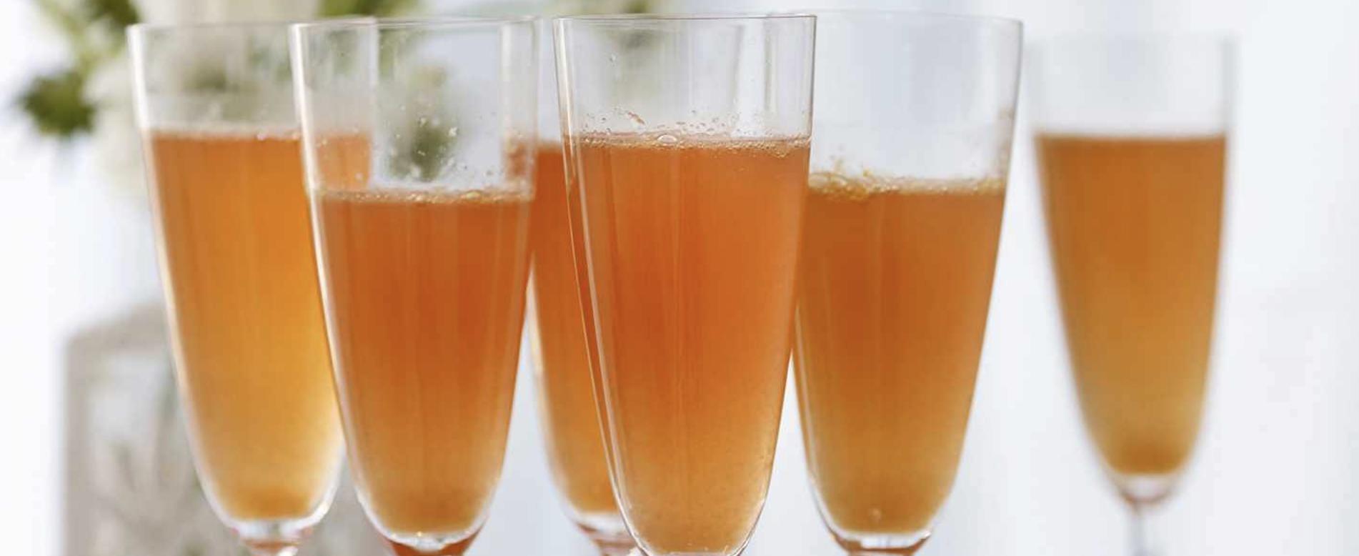 Sparkling Orange Cocktail Recipe