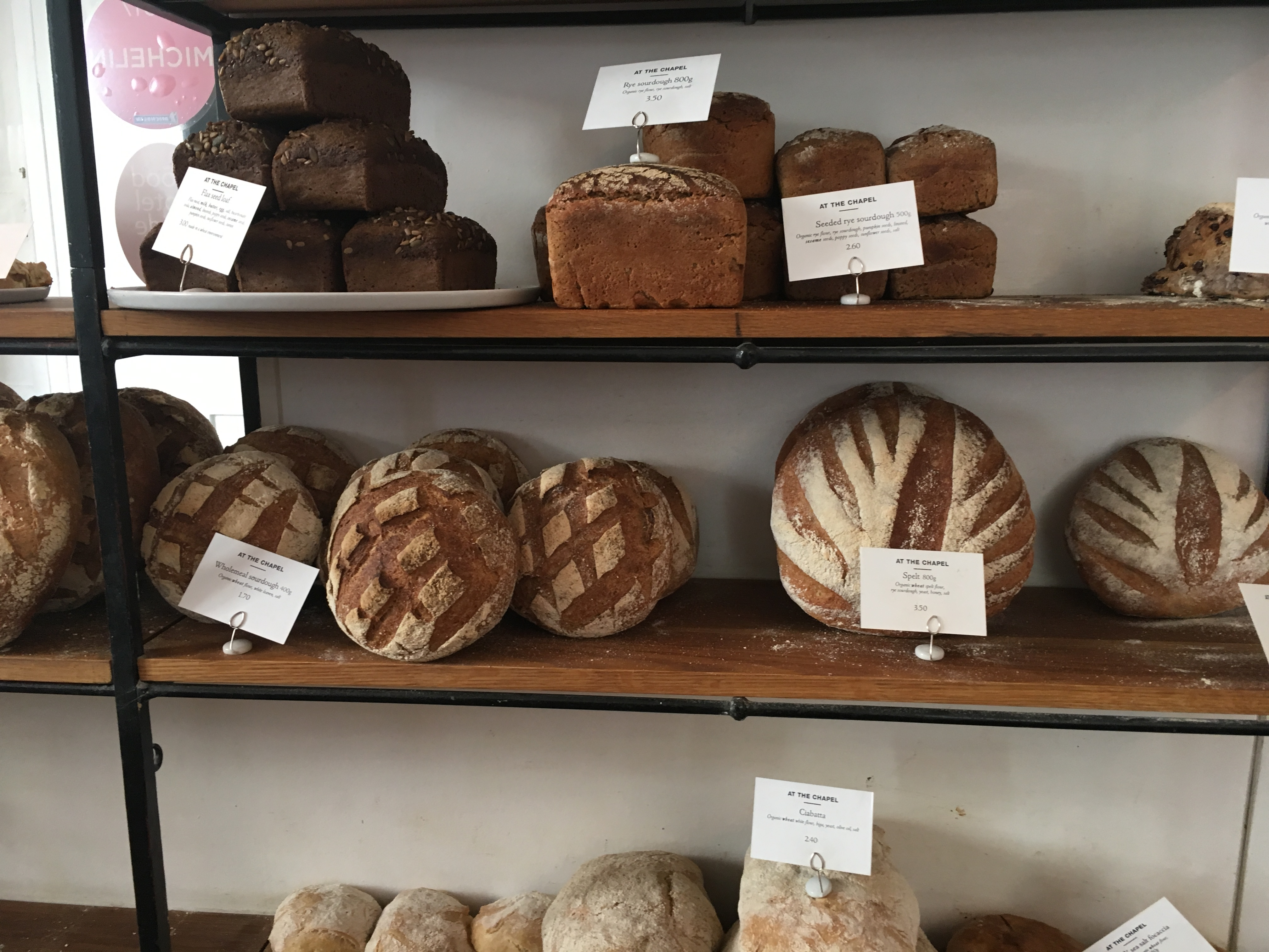 At the Chapel - bakery (bread)