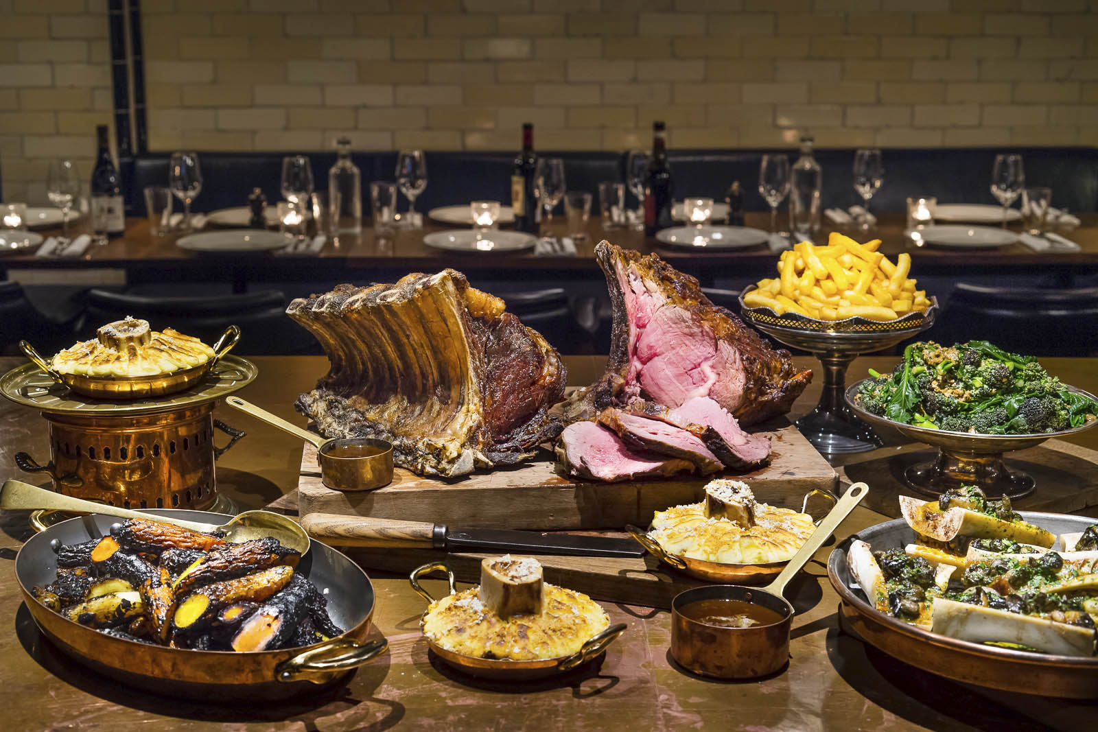 Join our exclusive private dinners at Hawksmoor