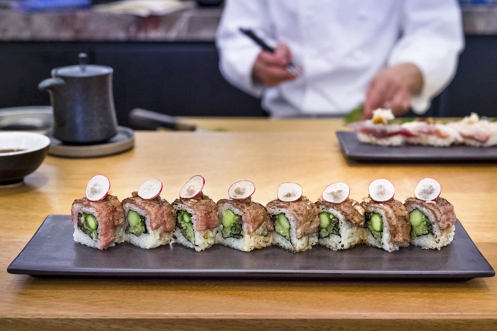 Mei Ume Sushi Rolls
