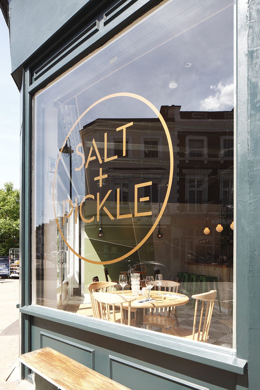 Salt + Pickle - outside sign