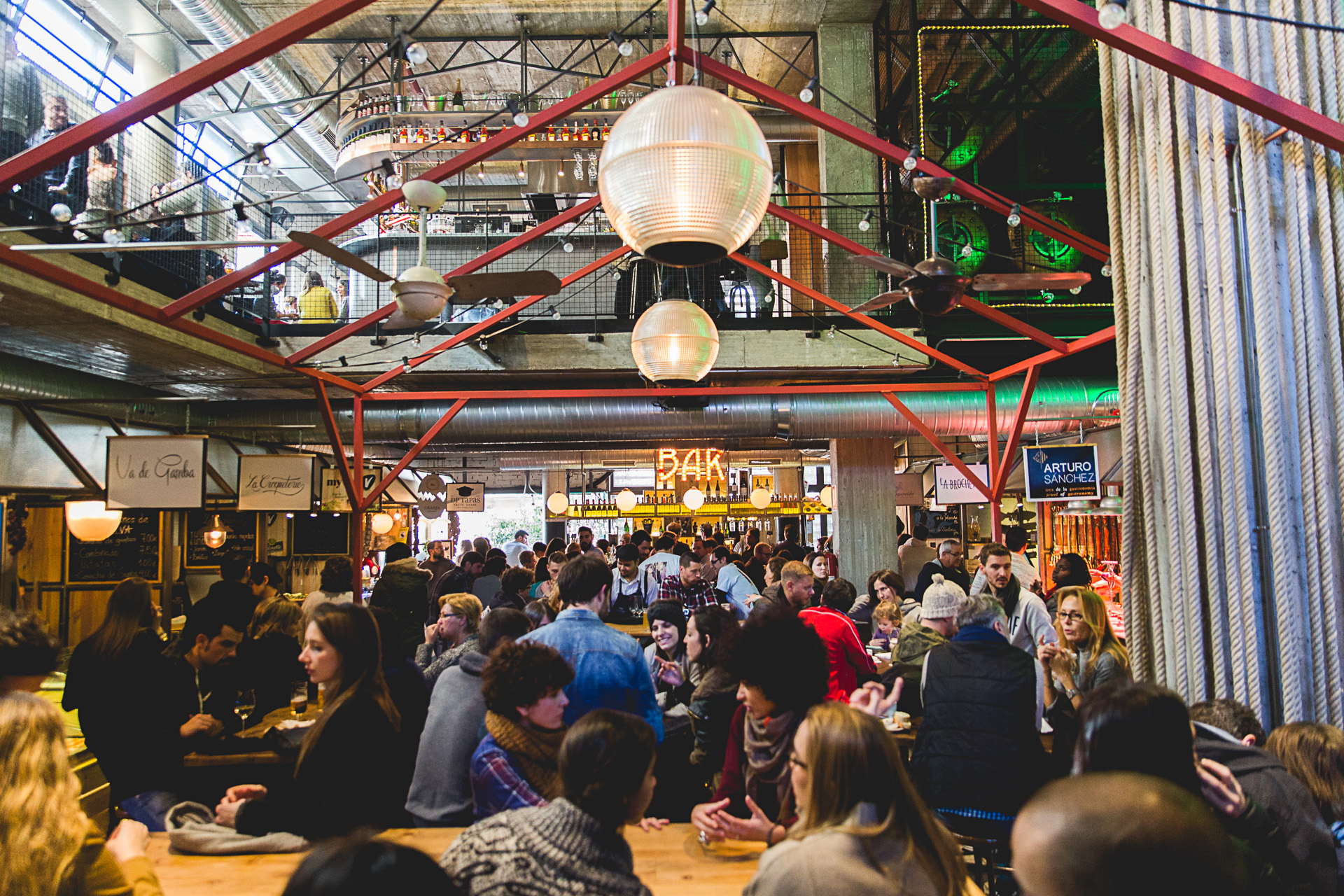 Indoor Street Food Markets In Europe For Cheap City Breaks