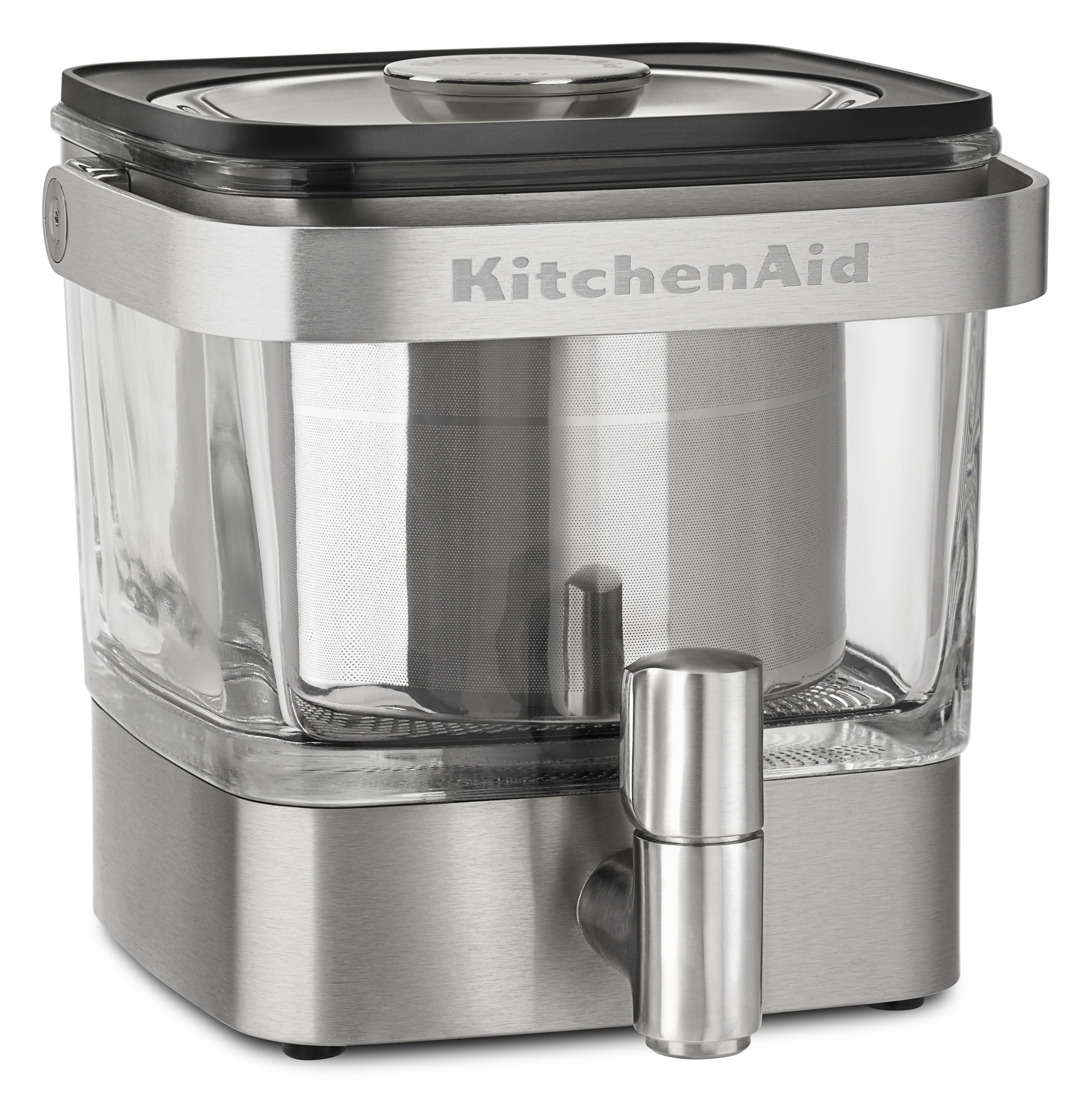 Silver KitchenAid Cold Brew Coffee machine