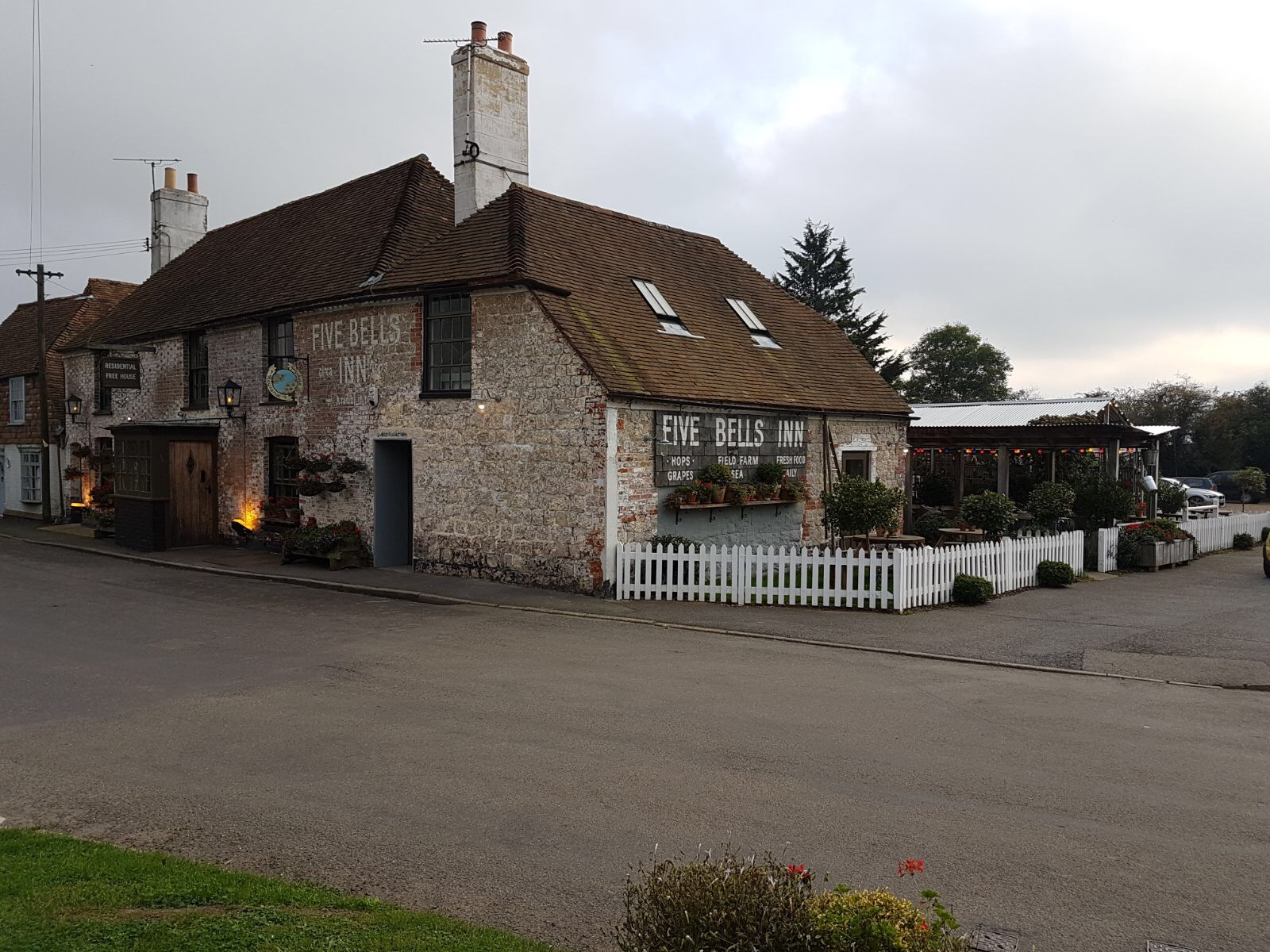The Five Bells - front