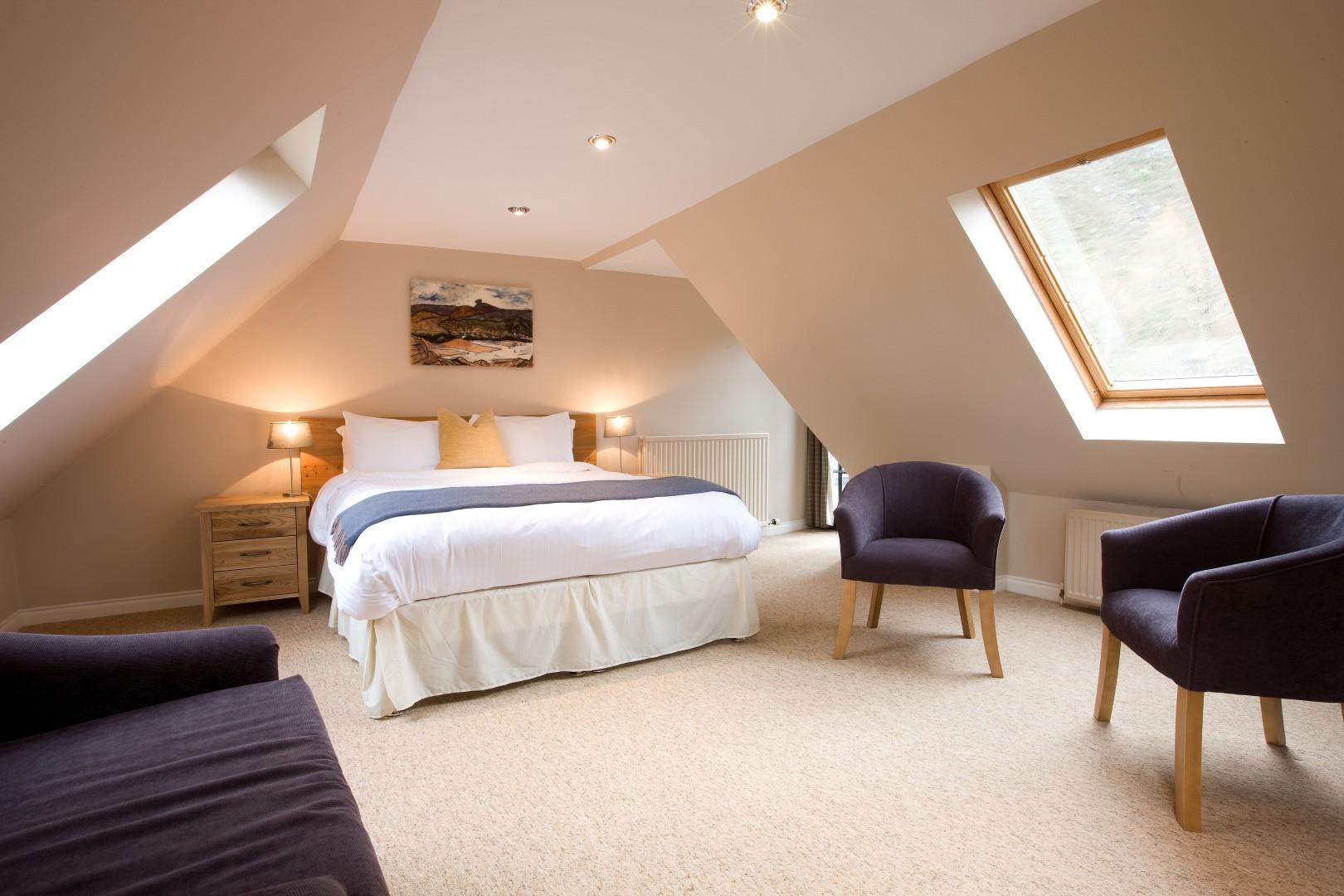 The Torridon Inn Bedroom