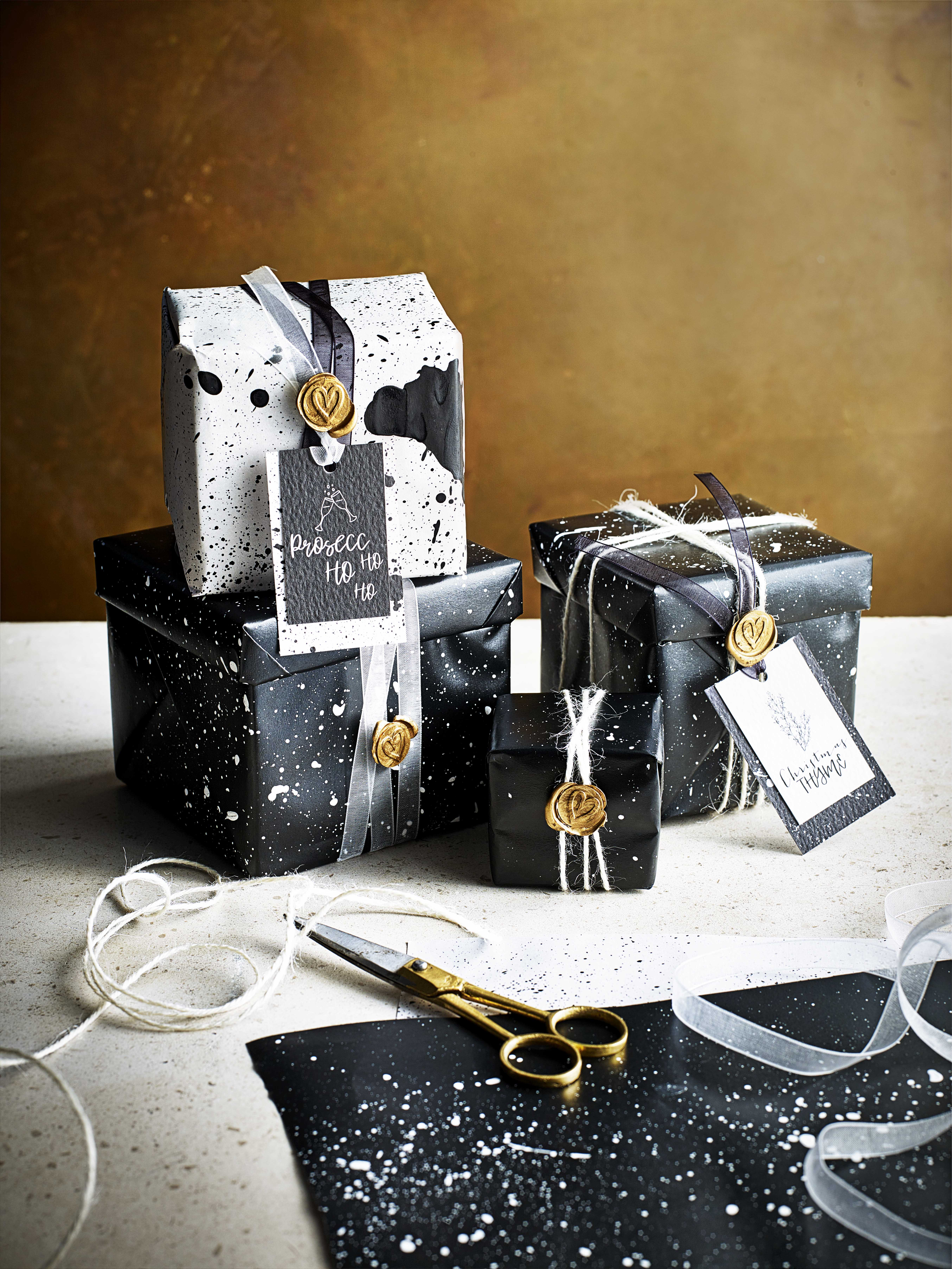 Homemade Wrapping Paper Ideas For Christmas