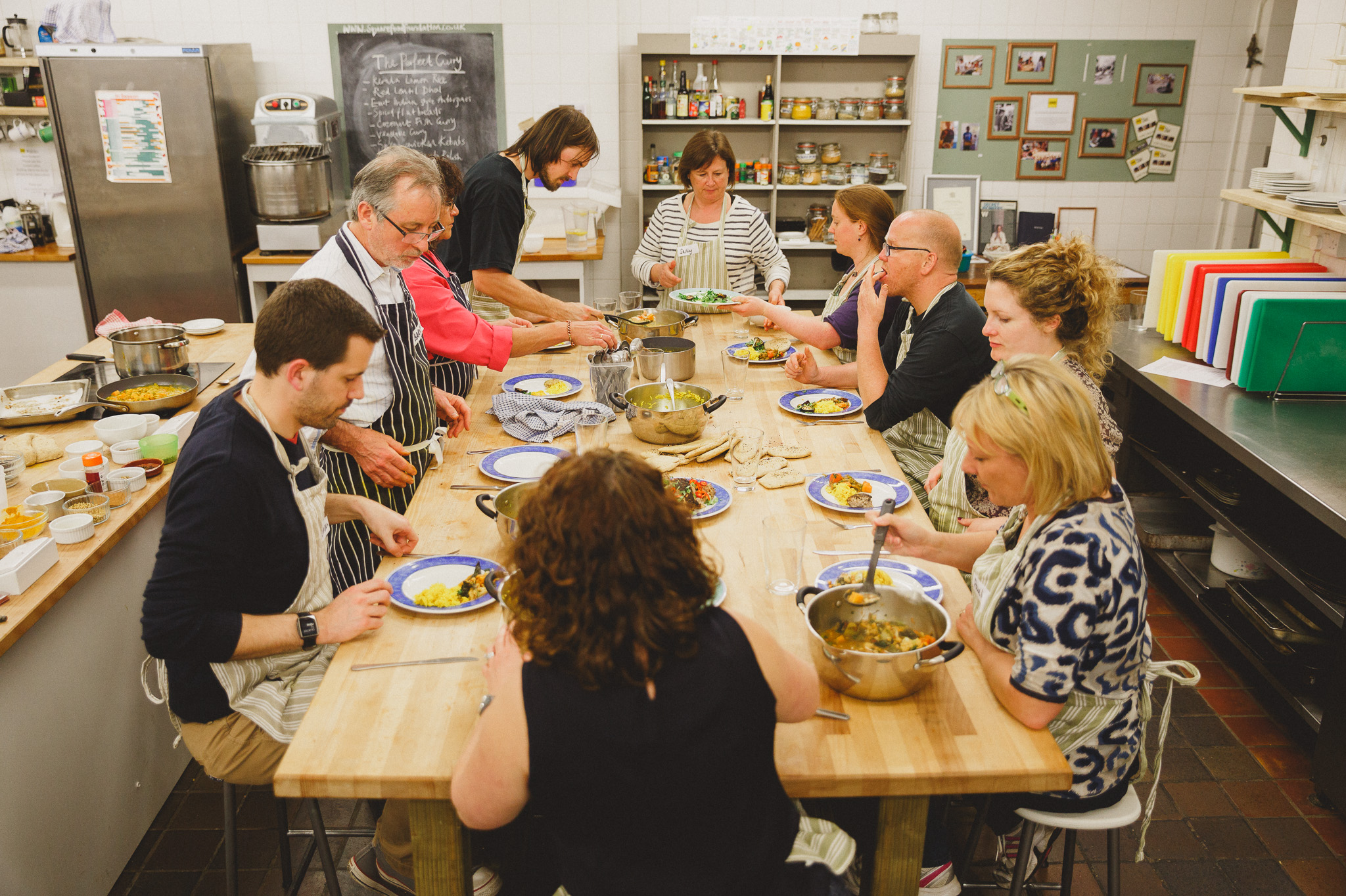 Square Food Foundation, Bristol - curry masterclass