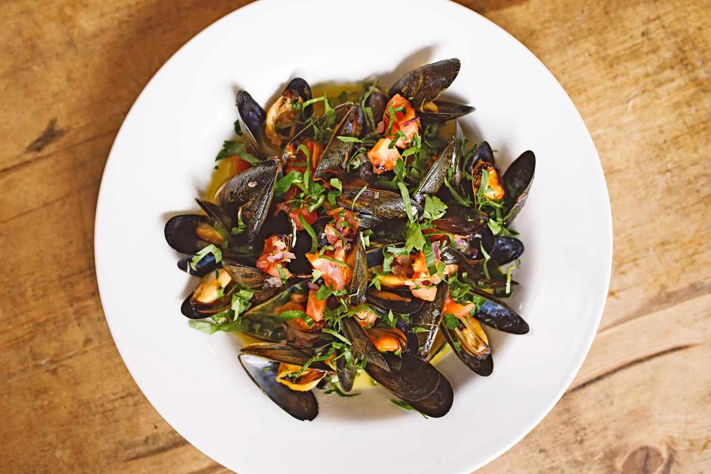 Mussels at Bar Buvette, Bristol