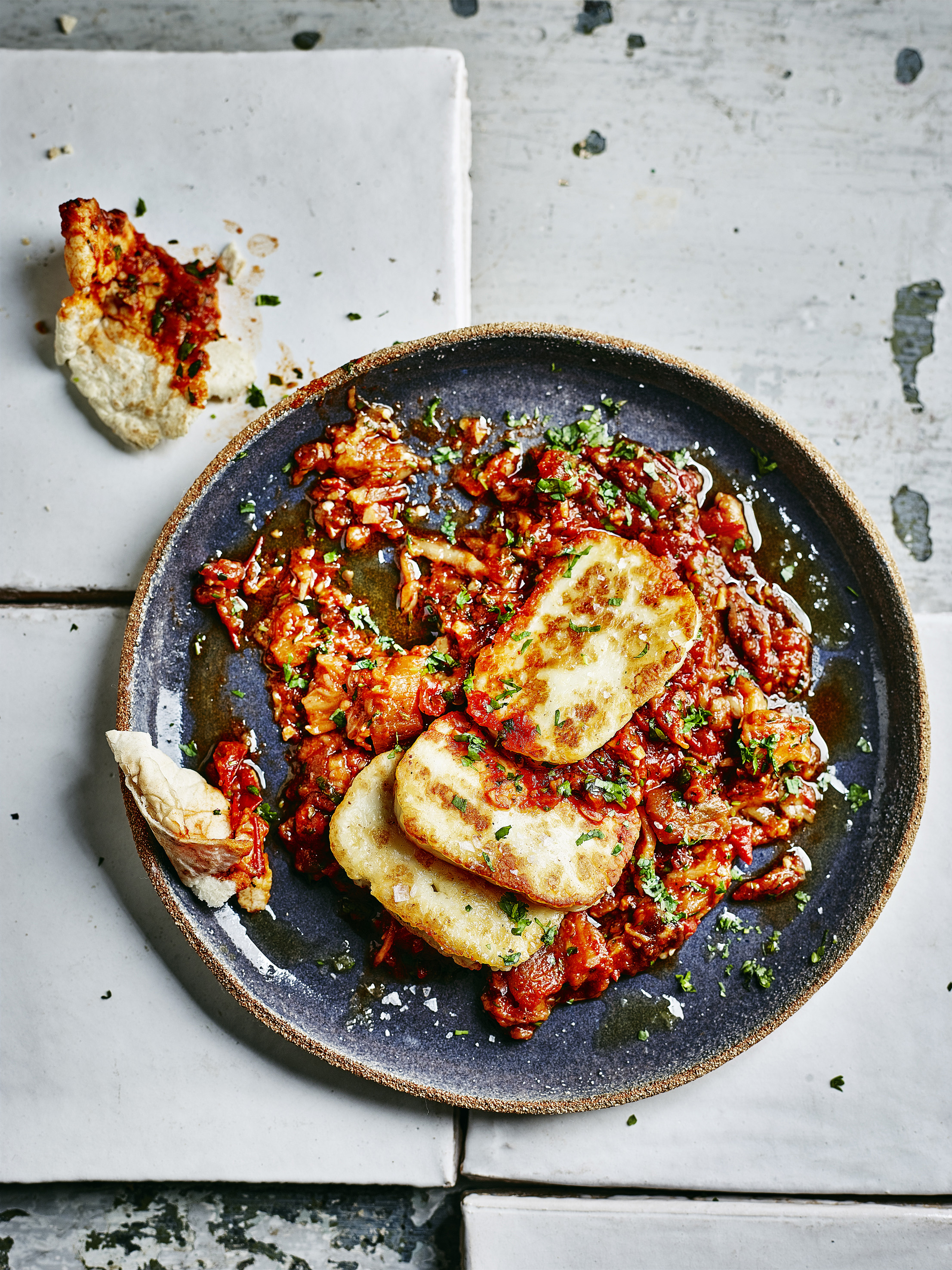 Zaalouk Recipe With Halloumi Cheese Olive Magazine