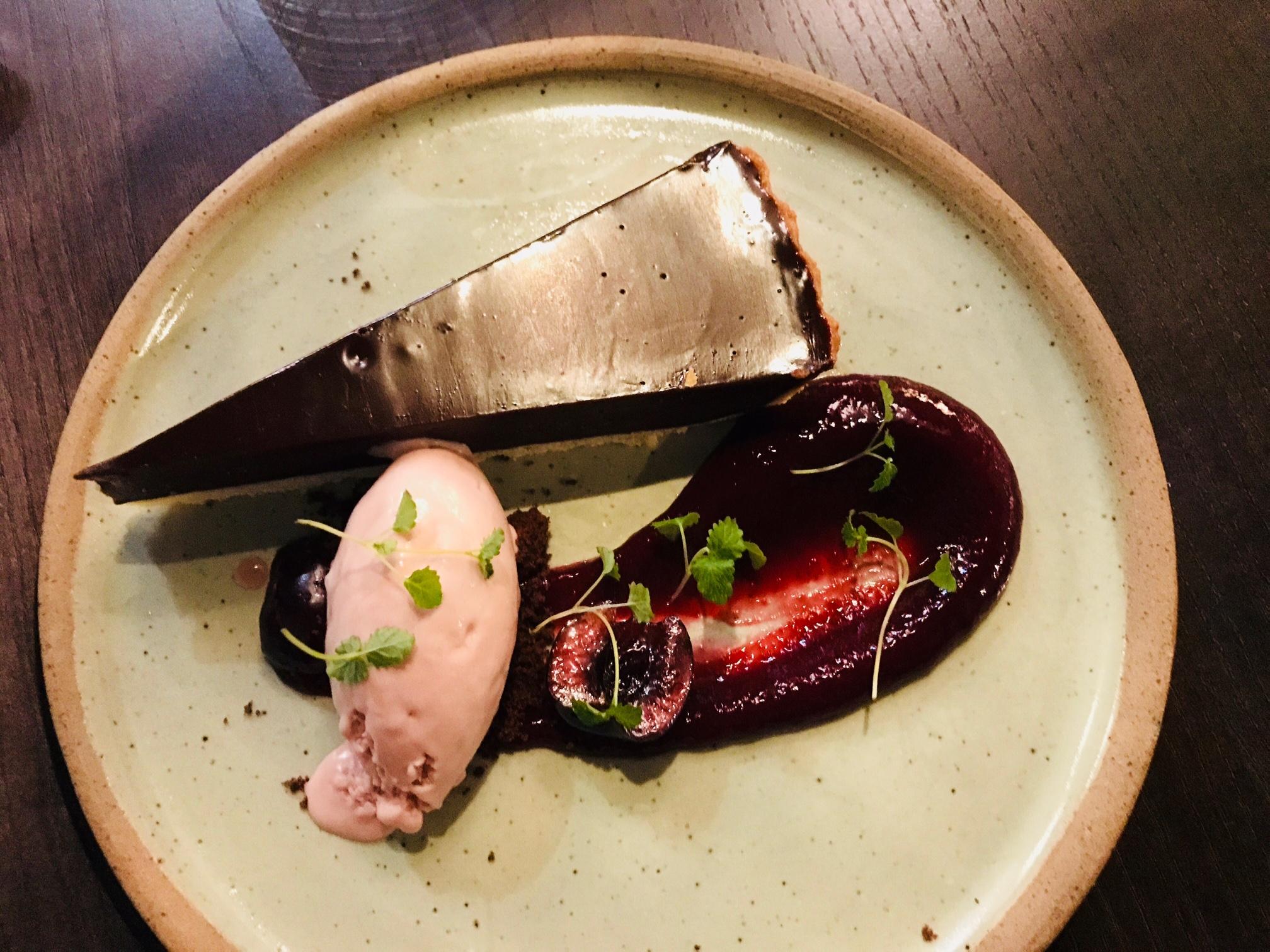 Wood Manchester - chocolate tart