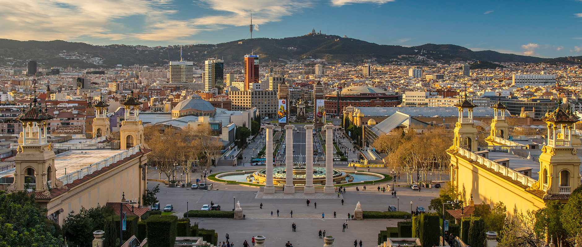 Views of the city of Barcelona