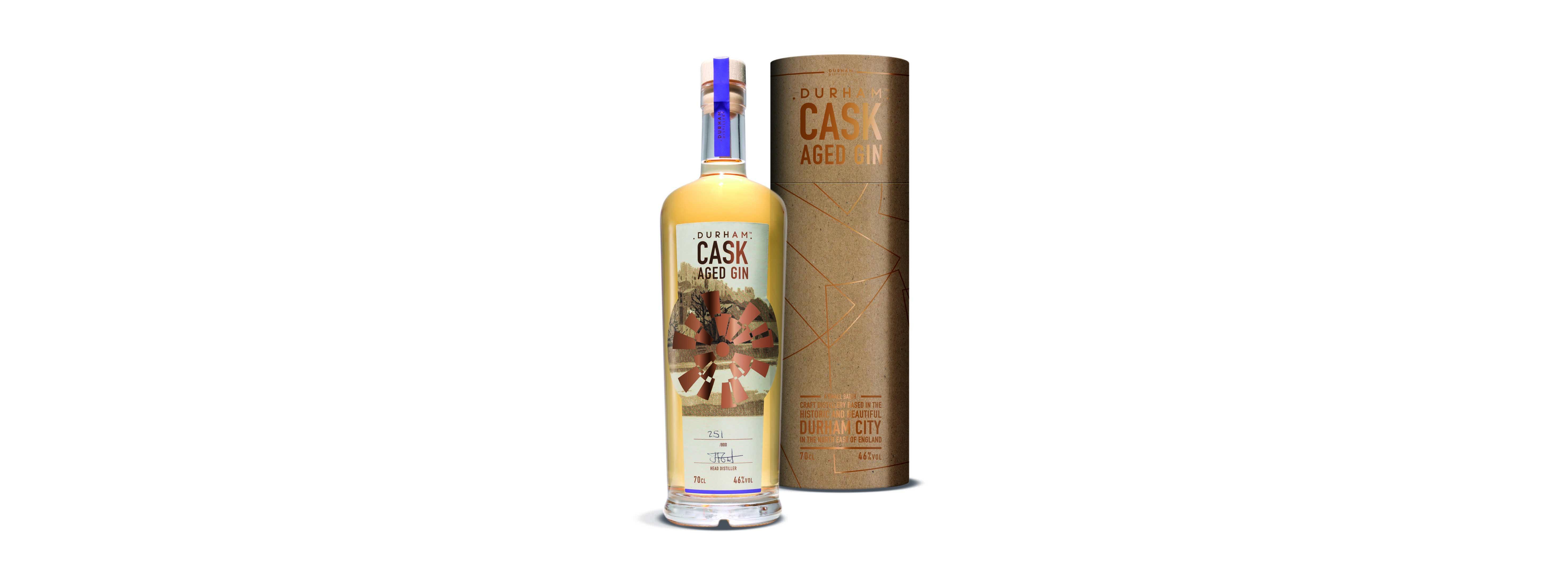 Cask Aged Gin Tube Bottle Visual 2