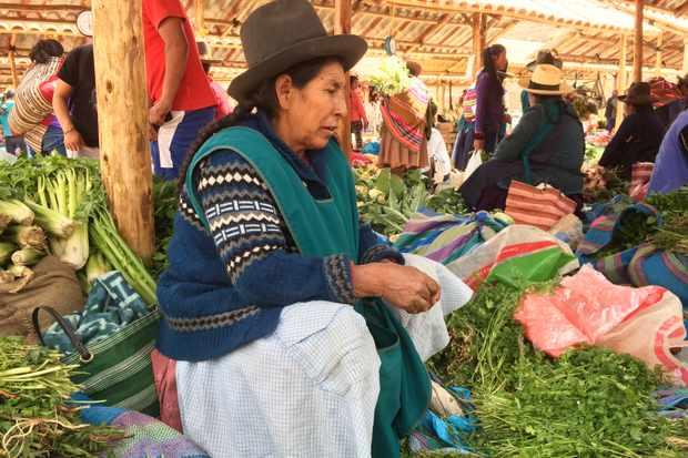 Chinchera market in Preu