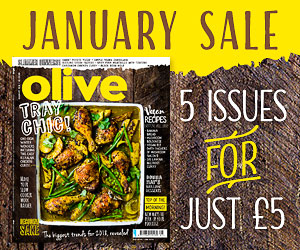 Olive magazine January sale