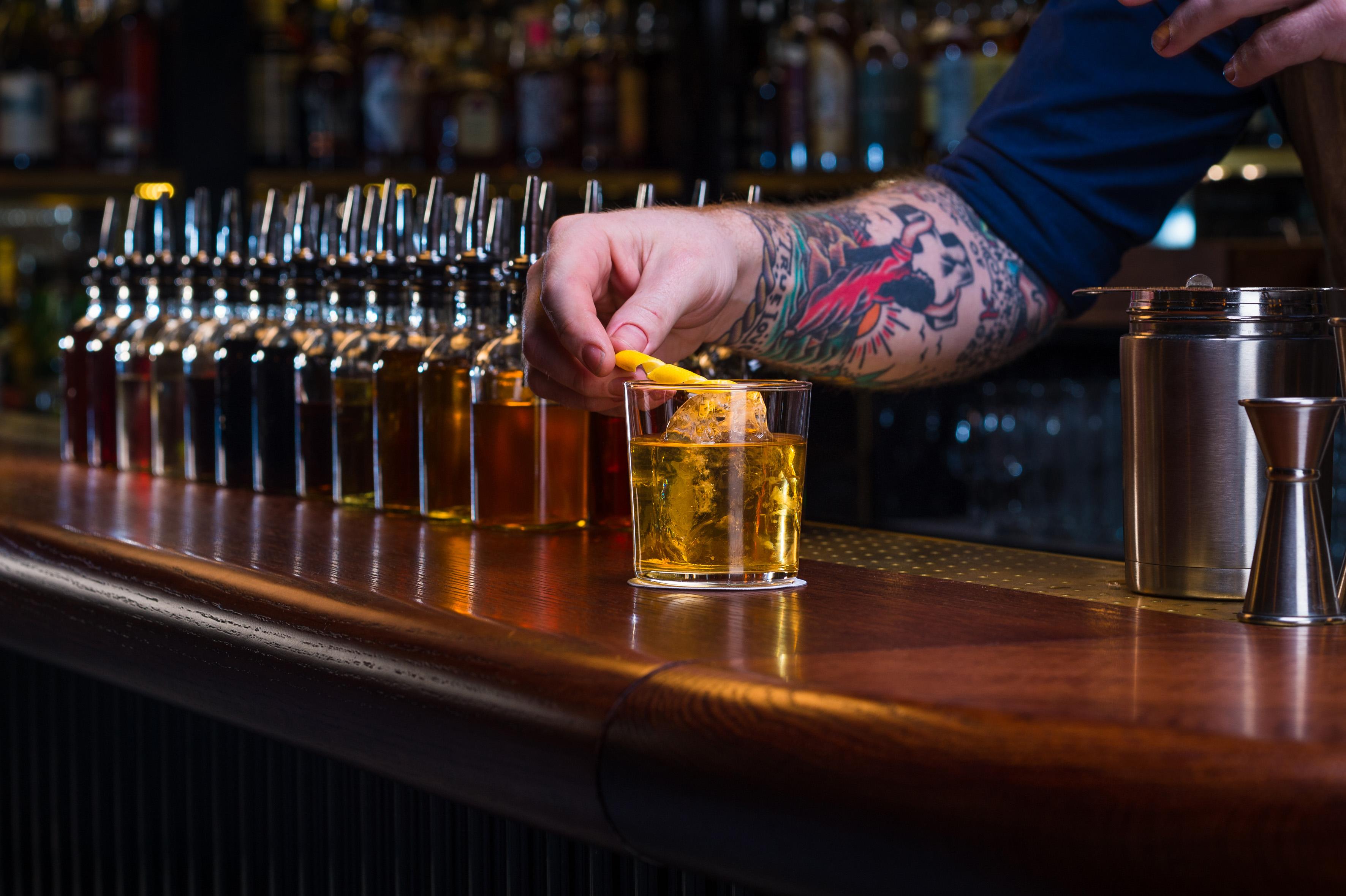 Swift cocktail bar, Soho