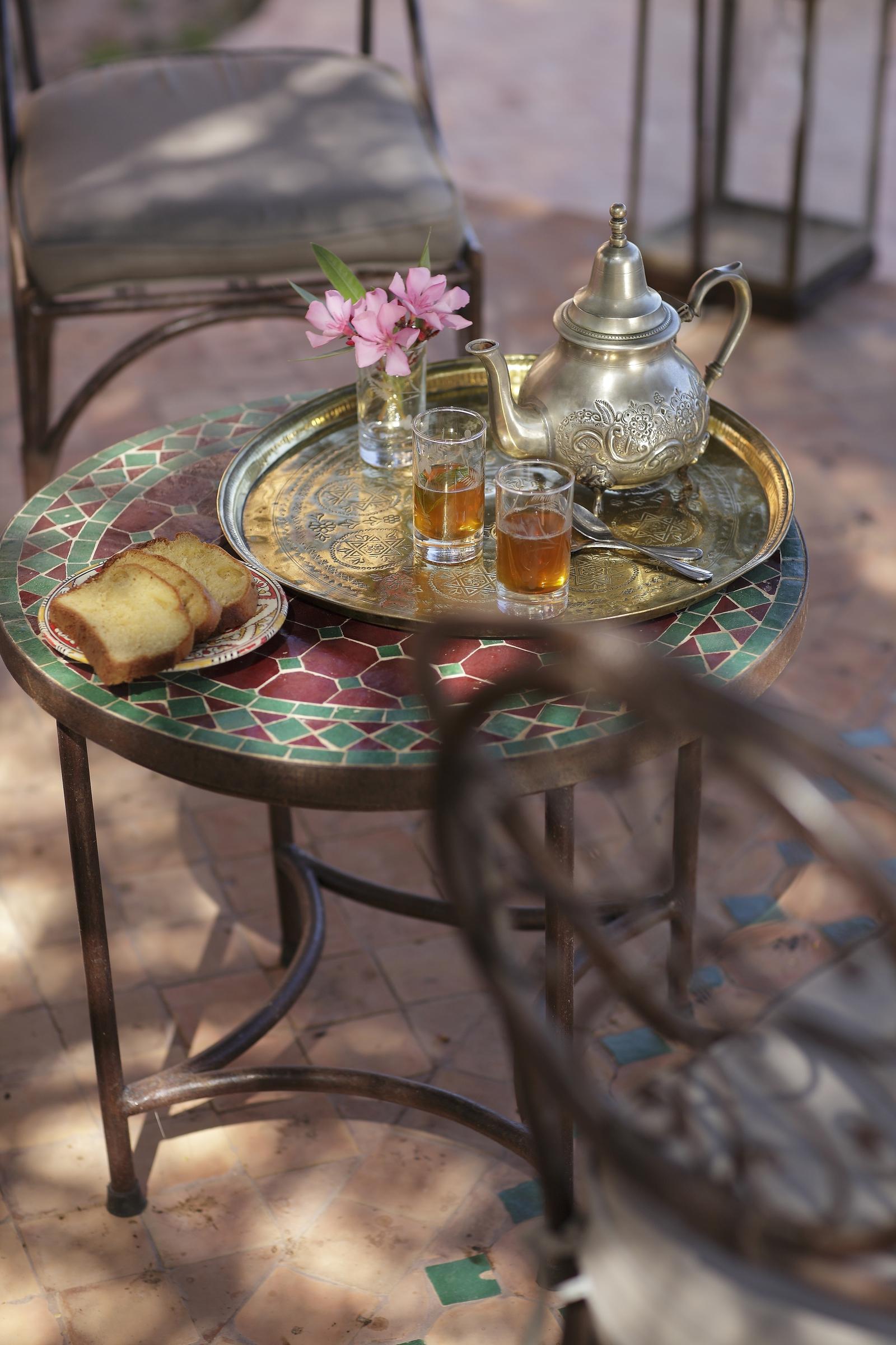 Breakfast at Jardin Des Douars