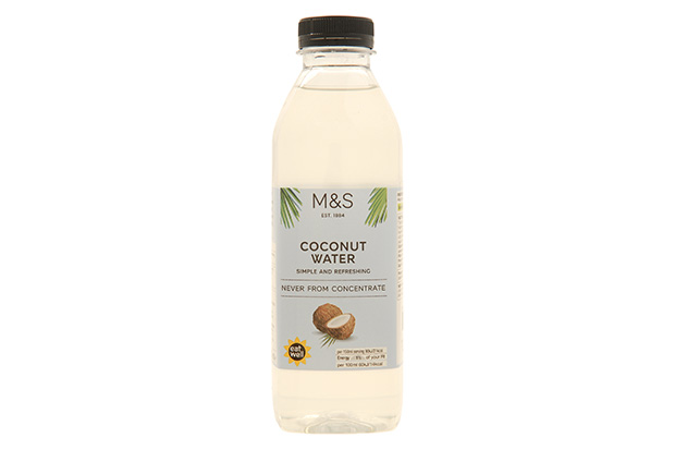 M and S coconut water