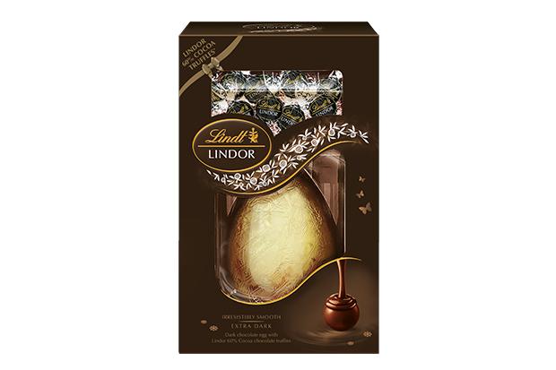 Lidnt dark chocolate Easter egg