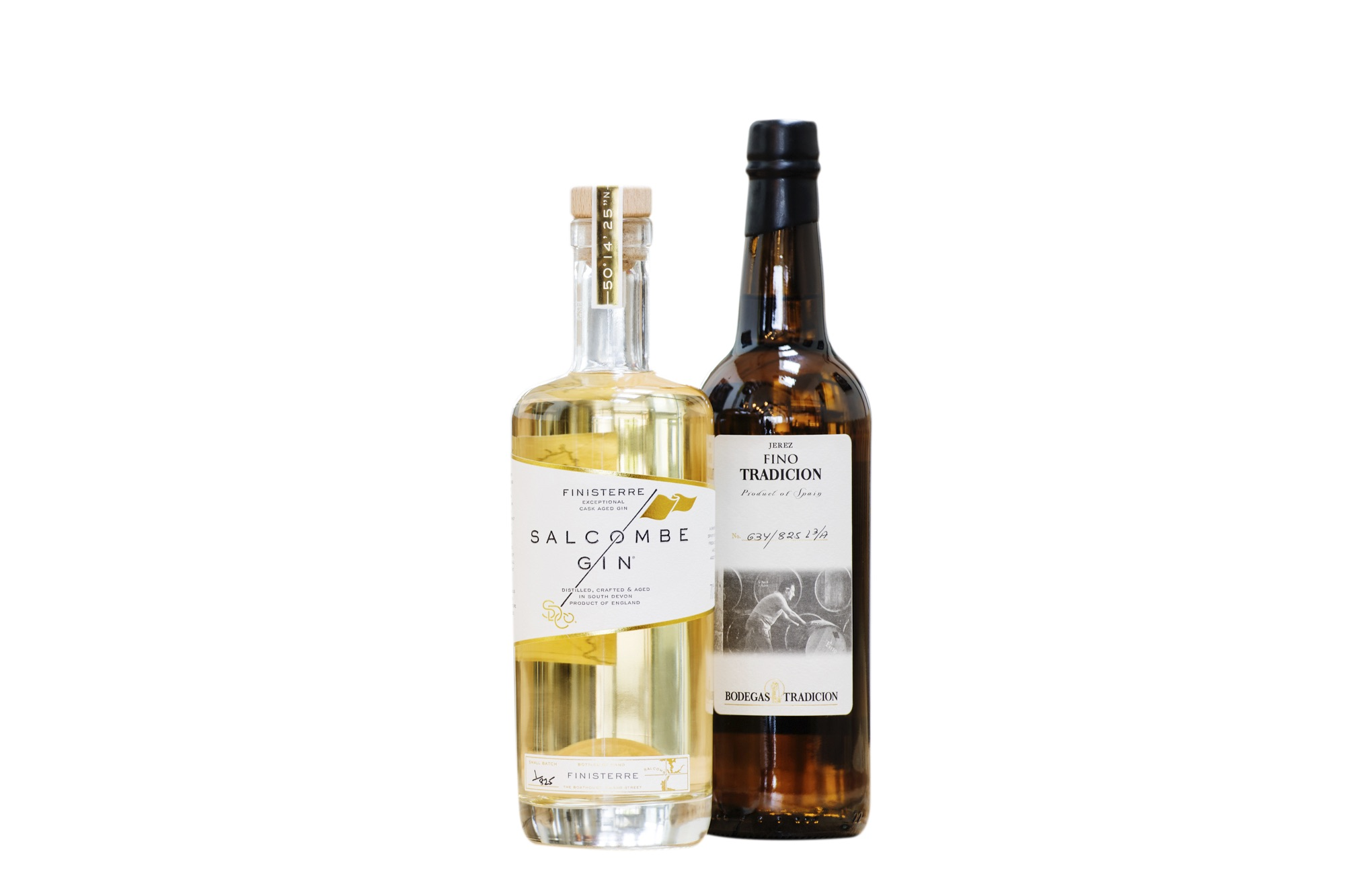 Finisterre cask-aged gin Salcombe